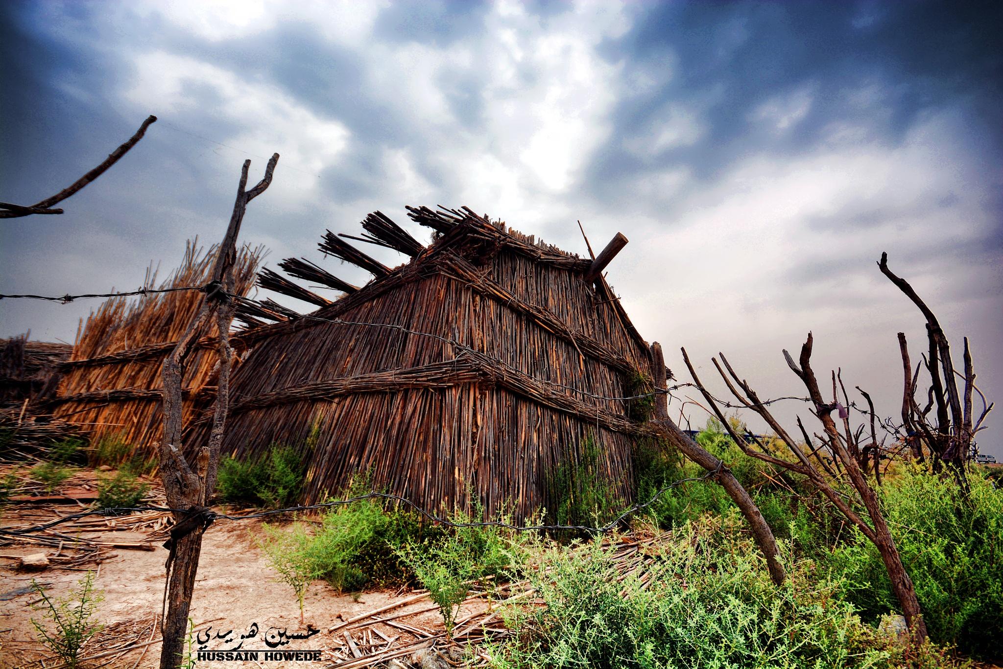 بيت القصب - Reed House  by hussainhowede