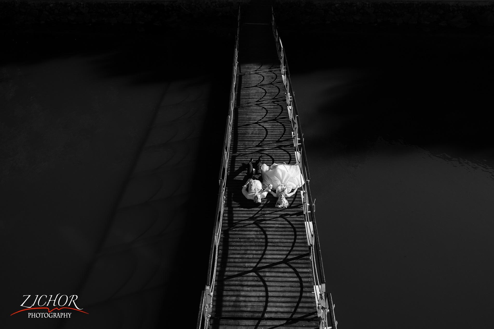Quiet Bridge by Zichor Eduard