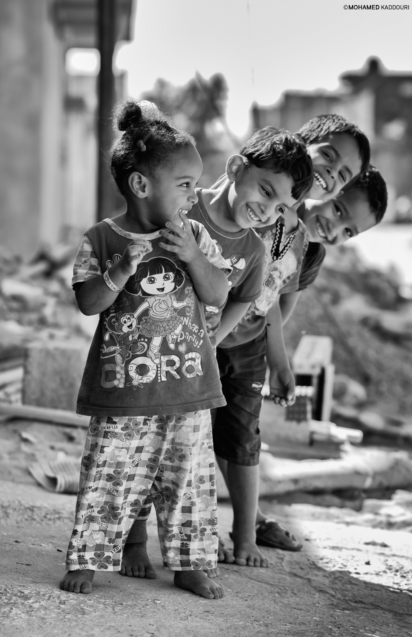 beautiful childhood with innocent smiles by Mohamed Kaddouri