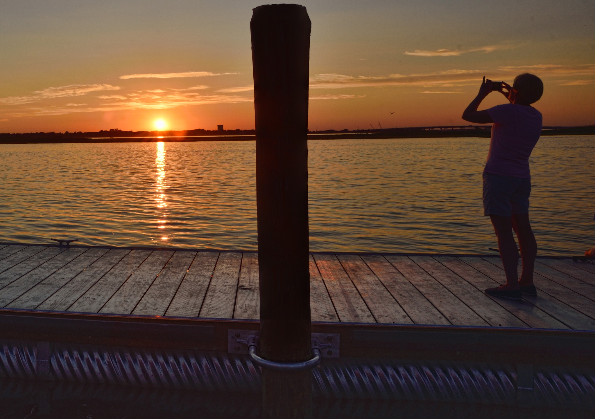 shooting the sunset by Dan McGovern