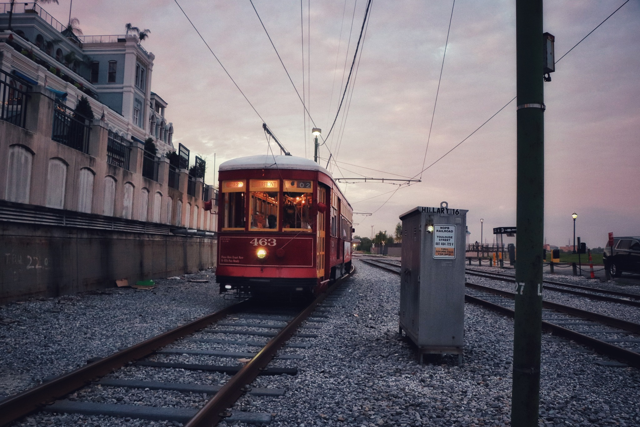 New Orleans, Come Dusk by Richard Lamb