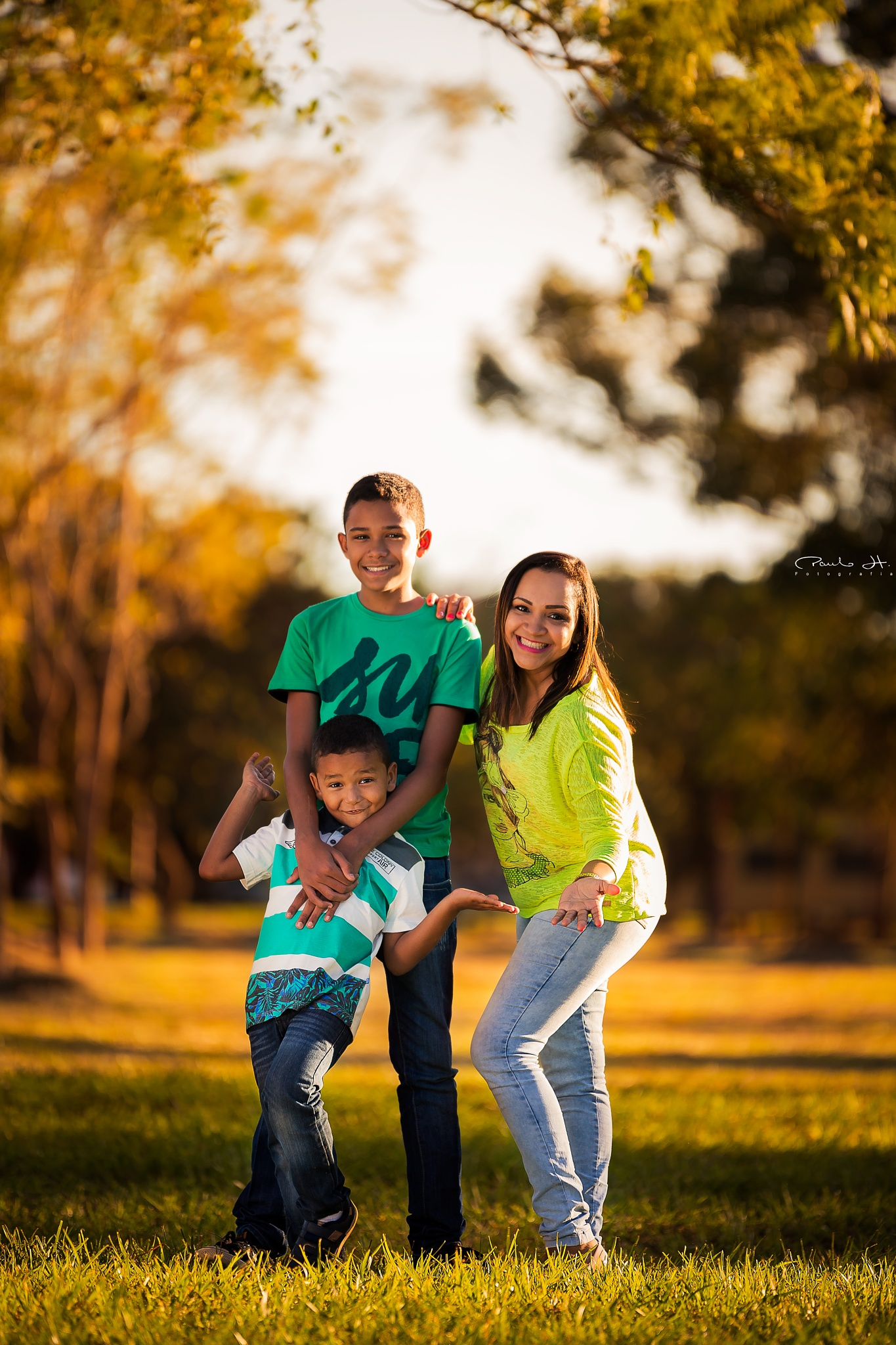Golden Family by Paulo Henrique Lobo