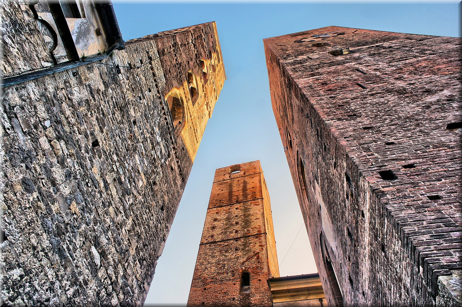 The towers by Giancarlo Gallo