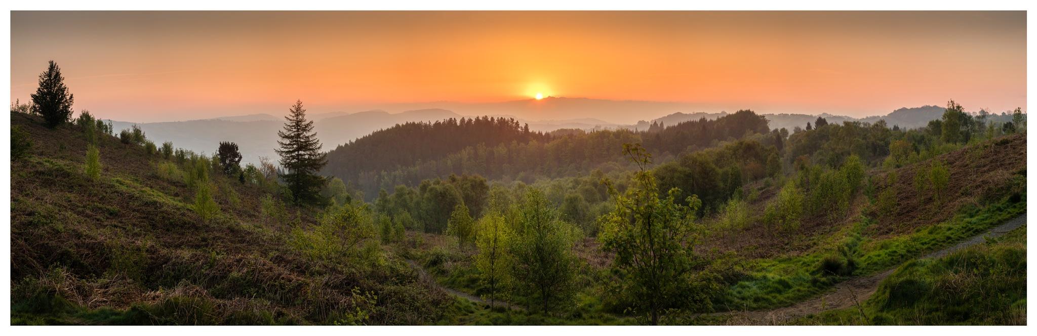 Sunrise Pano by Martin Roberts