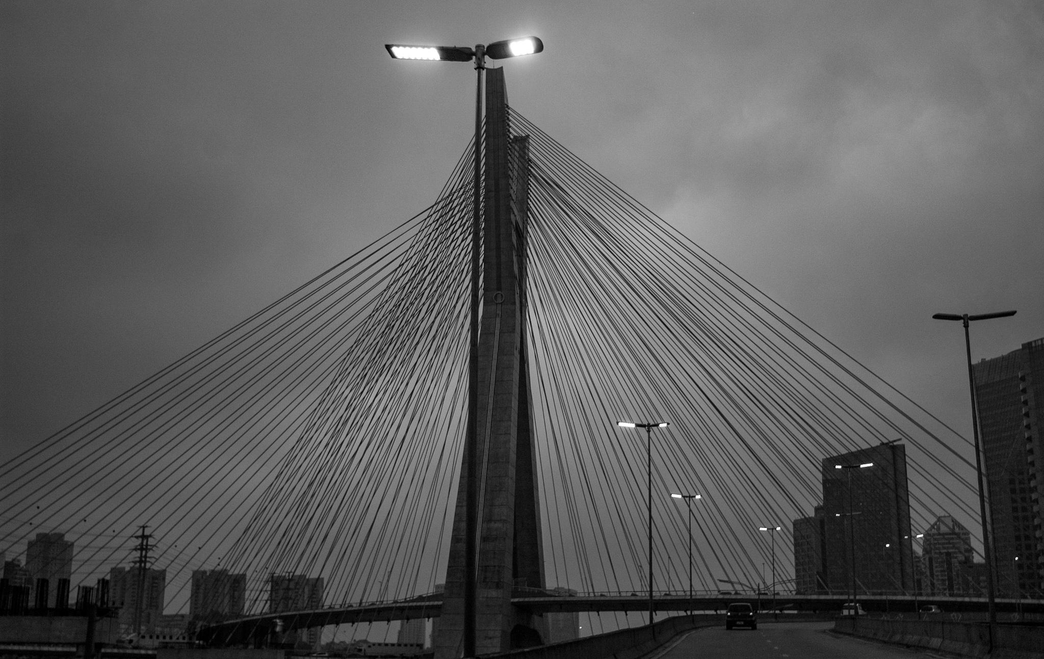 Ponte estaiada by Leonardo Paleari