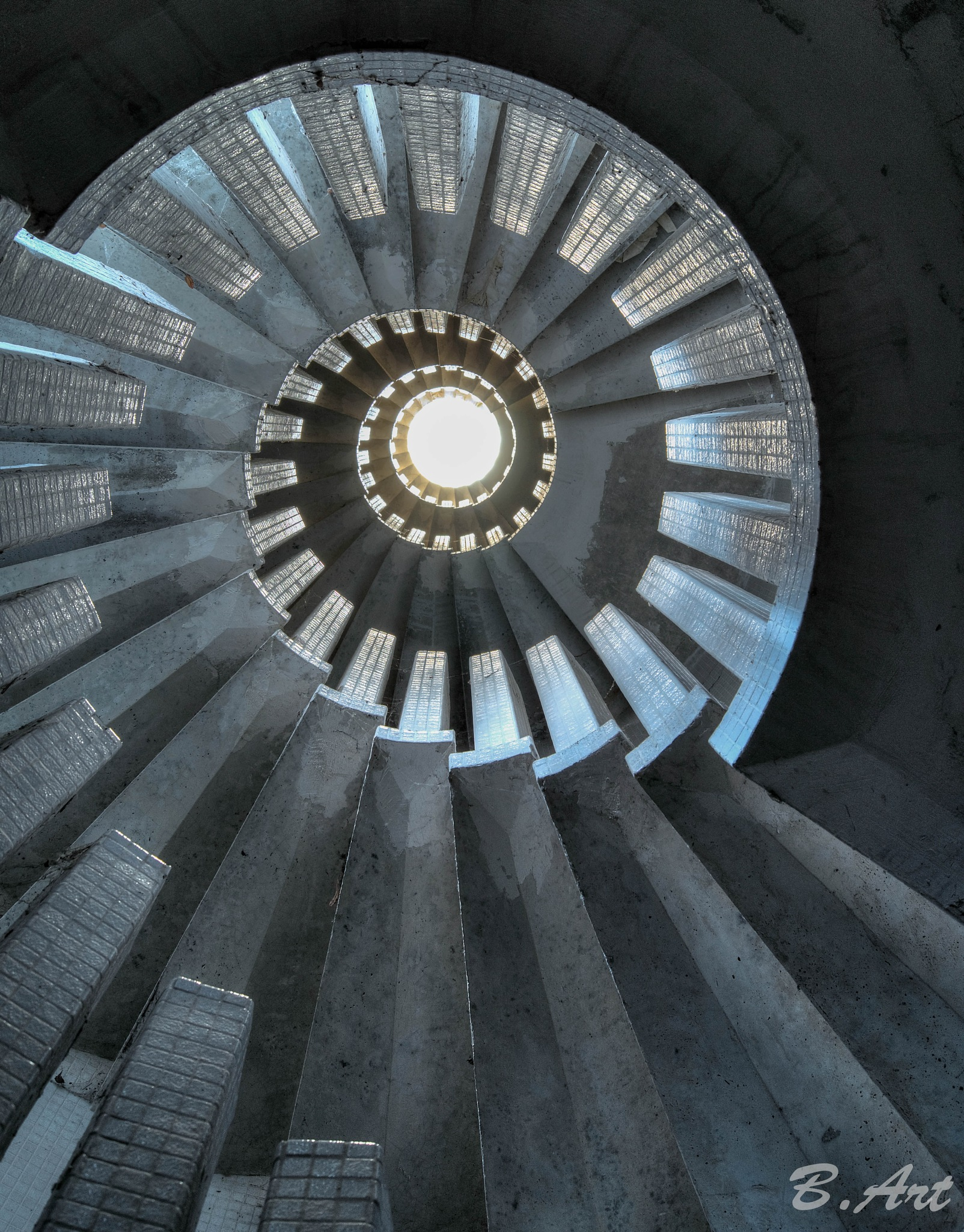 stairs by Bart van Reeth