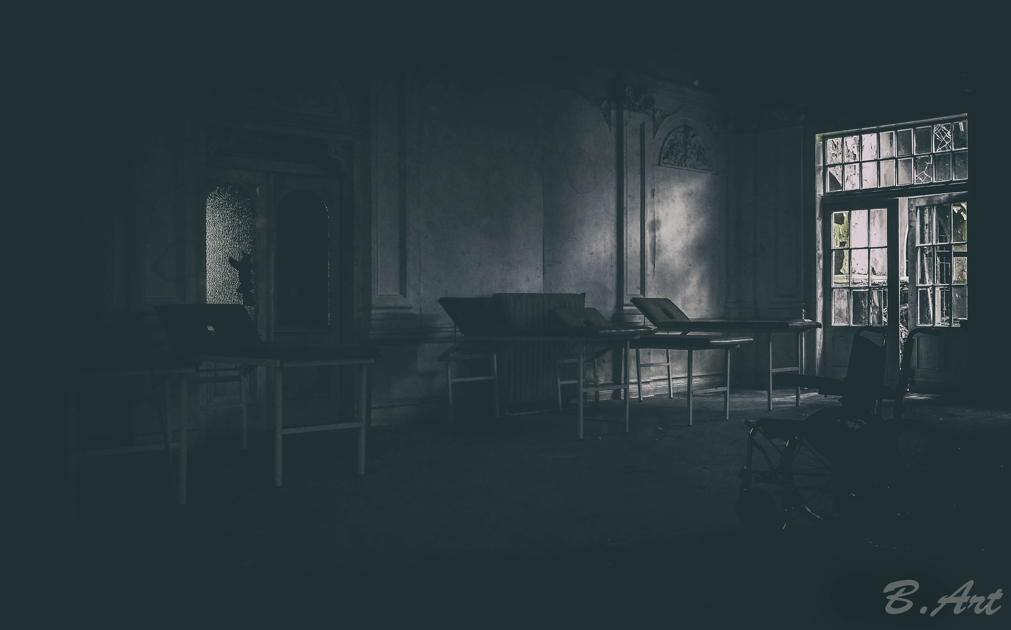 lost asylum by Bart van Reeth