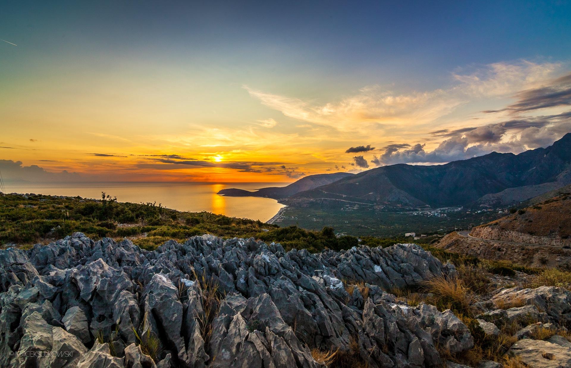Sunset... by Maciek Sulkowski