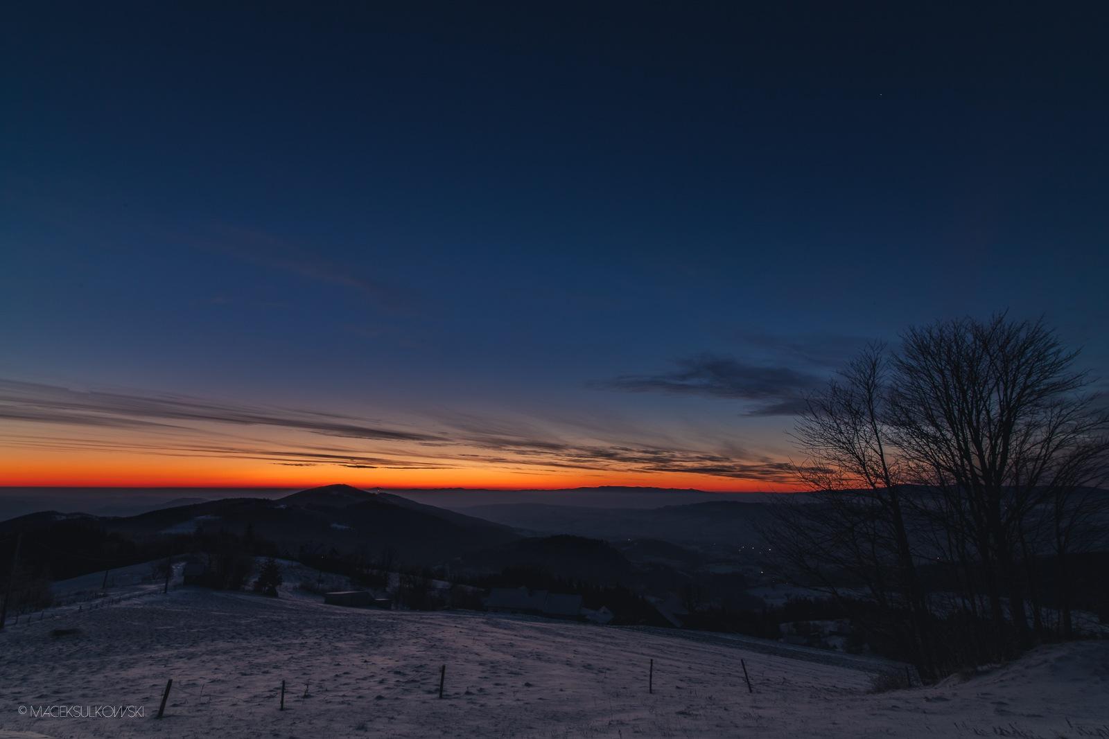 First light... by Maciek Sulkowski