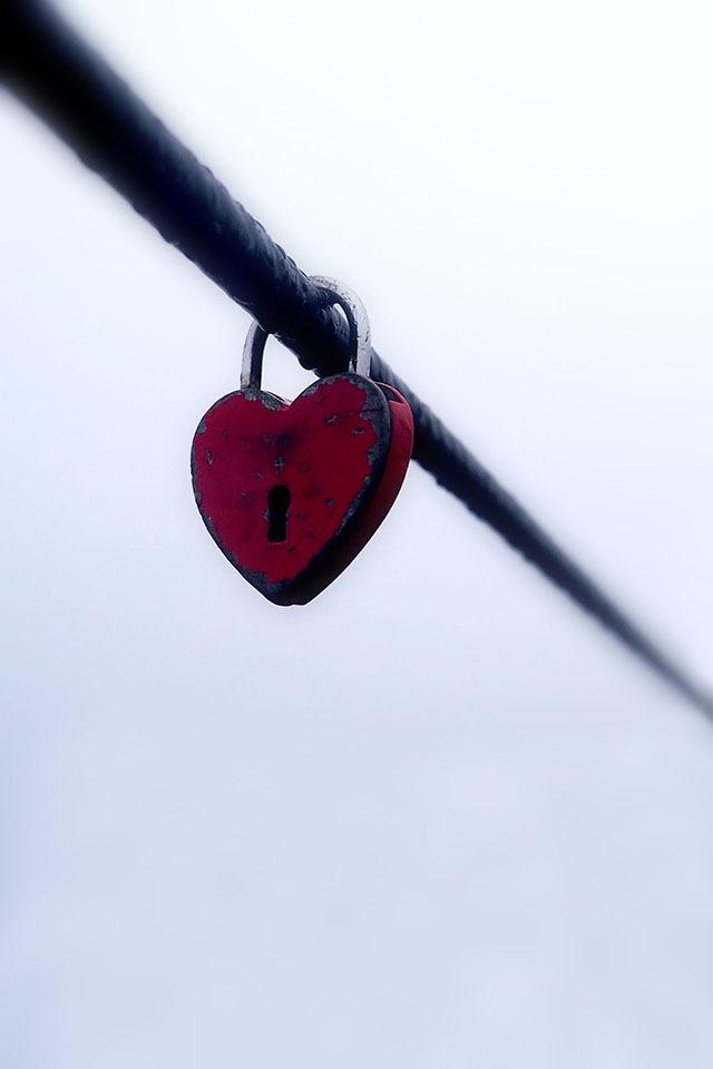 Photo in Random #lock #heart #valentine #cable