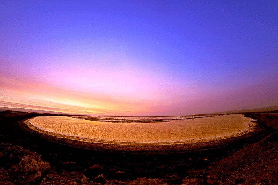 Sunset Pond by RickyPan