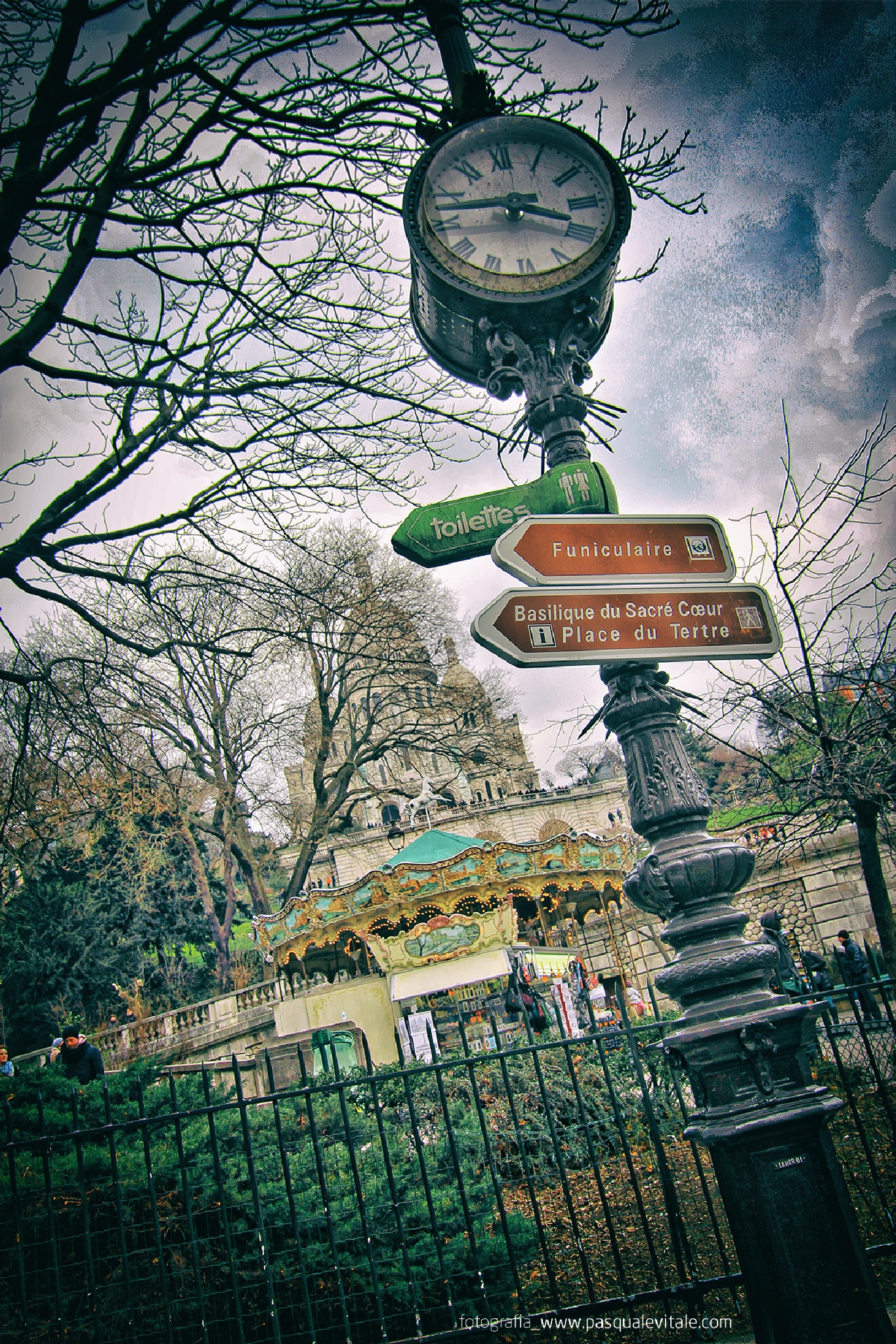 Montmartre by Pasquale Vitale