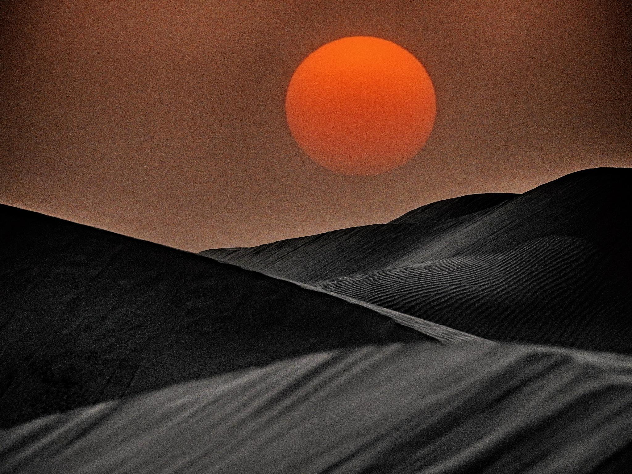 Sunset is still my favourite colour by Hisham Badran