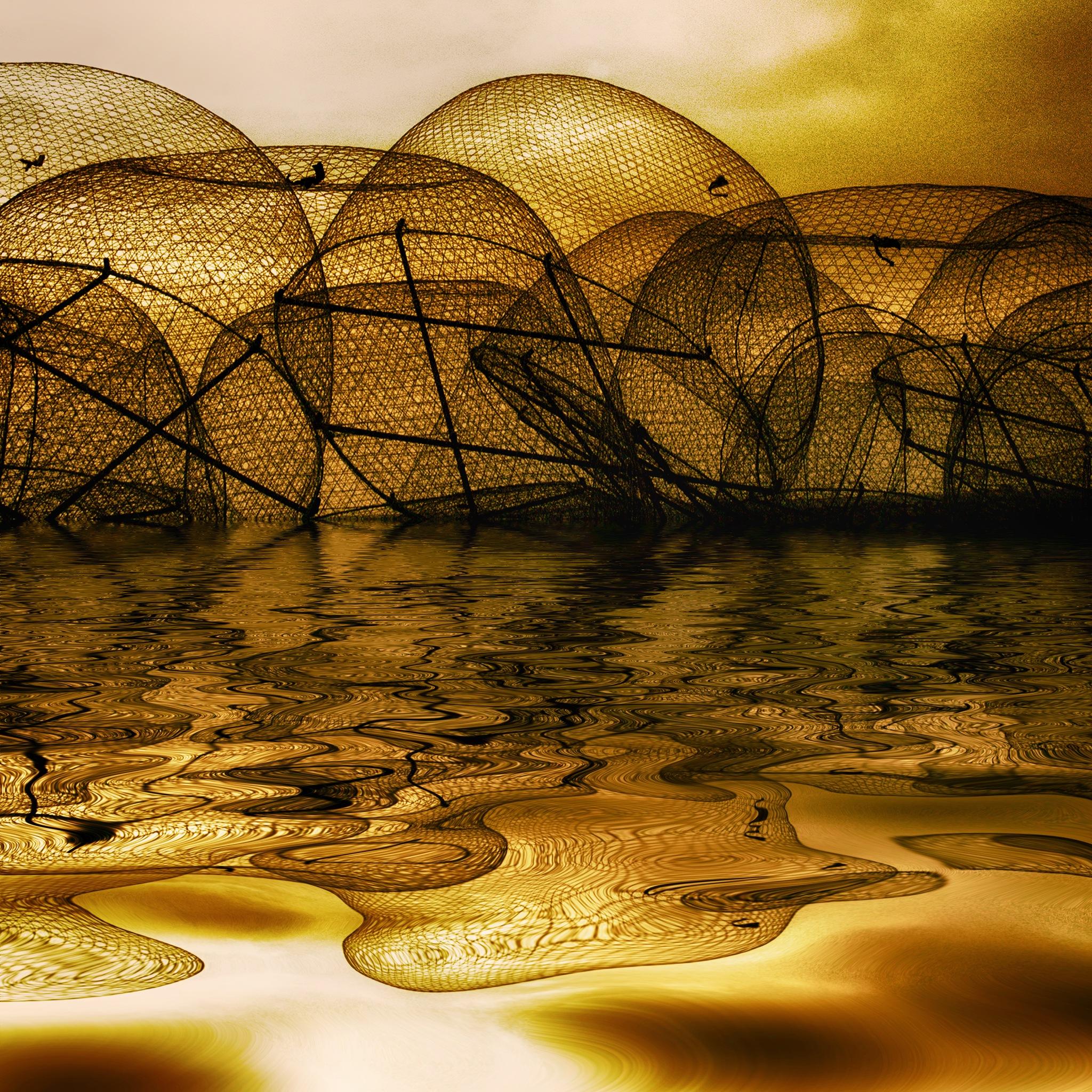 Reflections of a silhouett by Hisham Badran