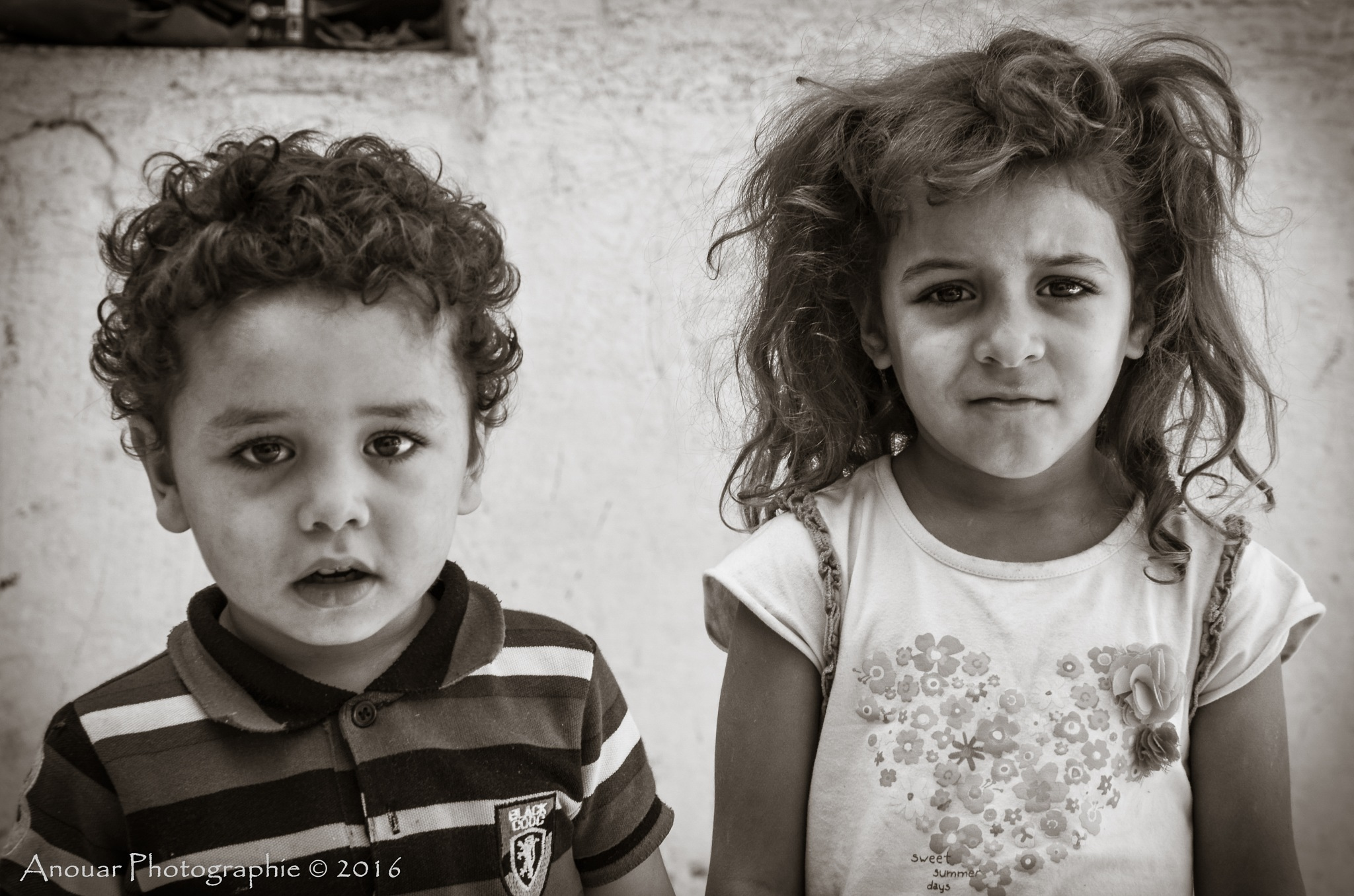 Childhood by Anouar Sassi