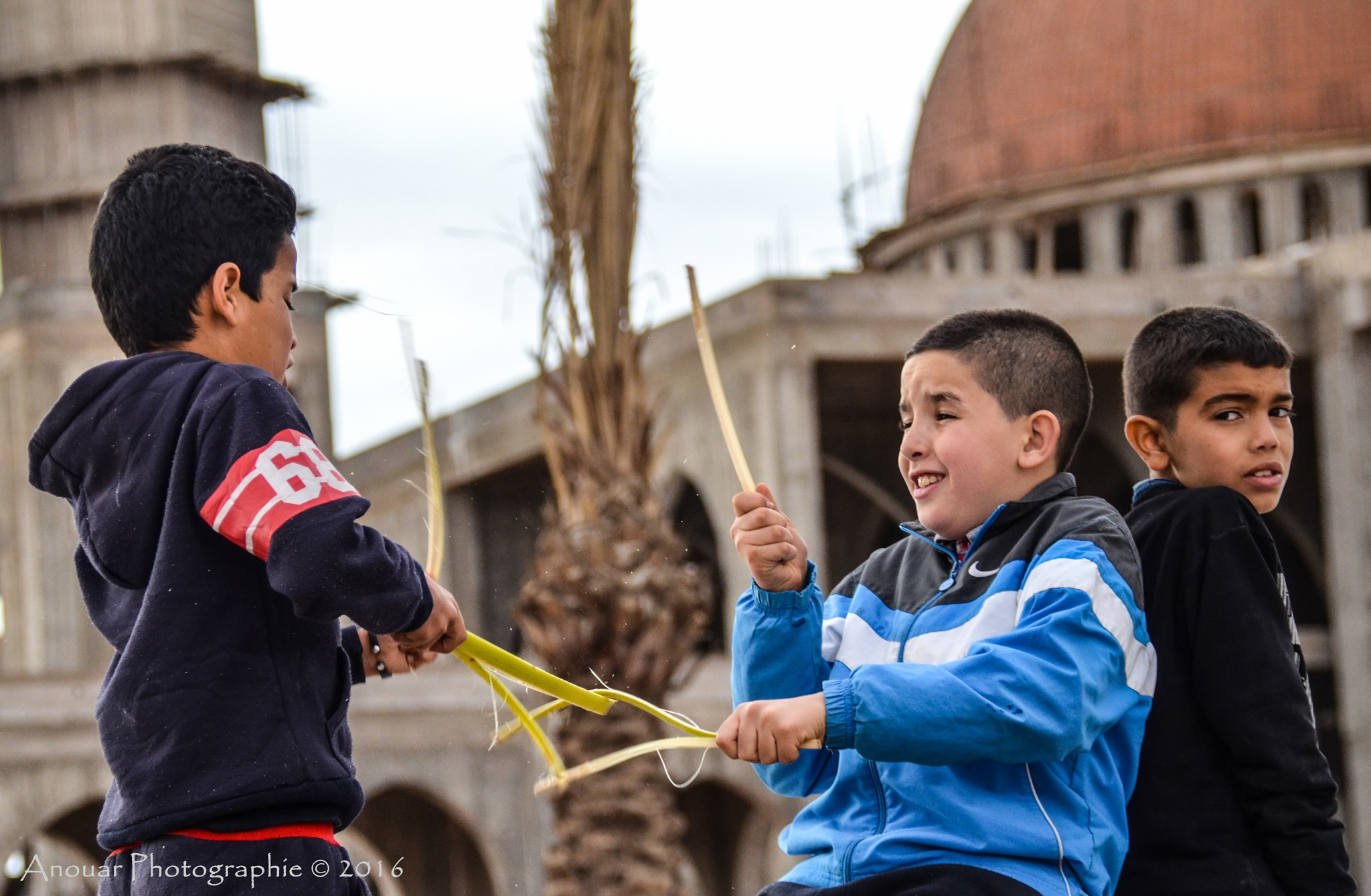 Street play by Anouar Sassi