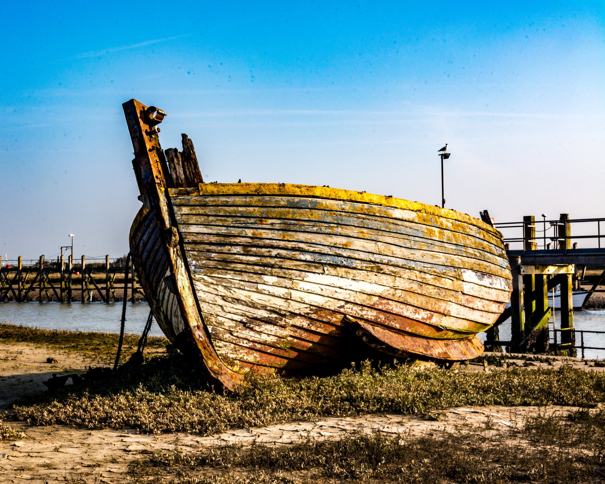 Wreck at Rye by Poetsoftheheart