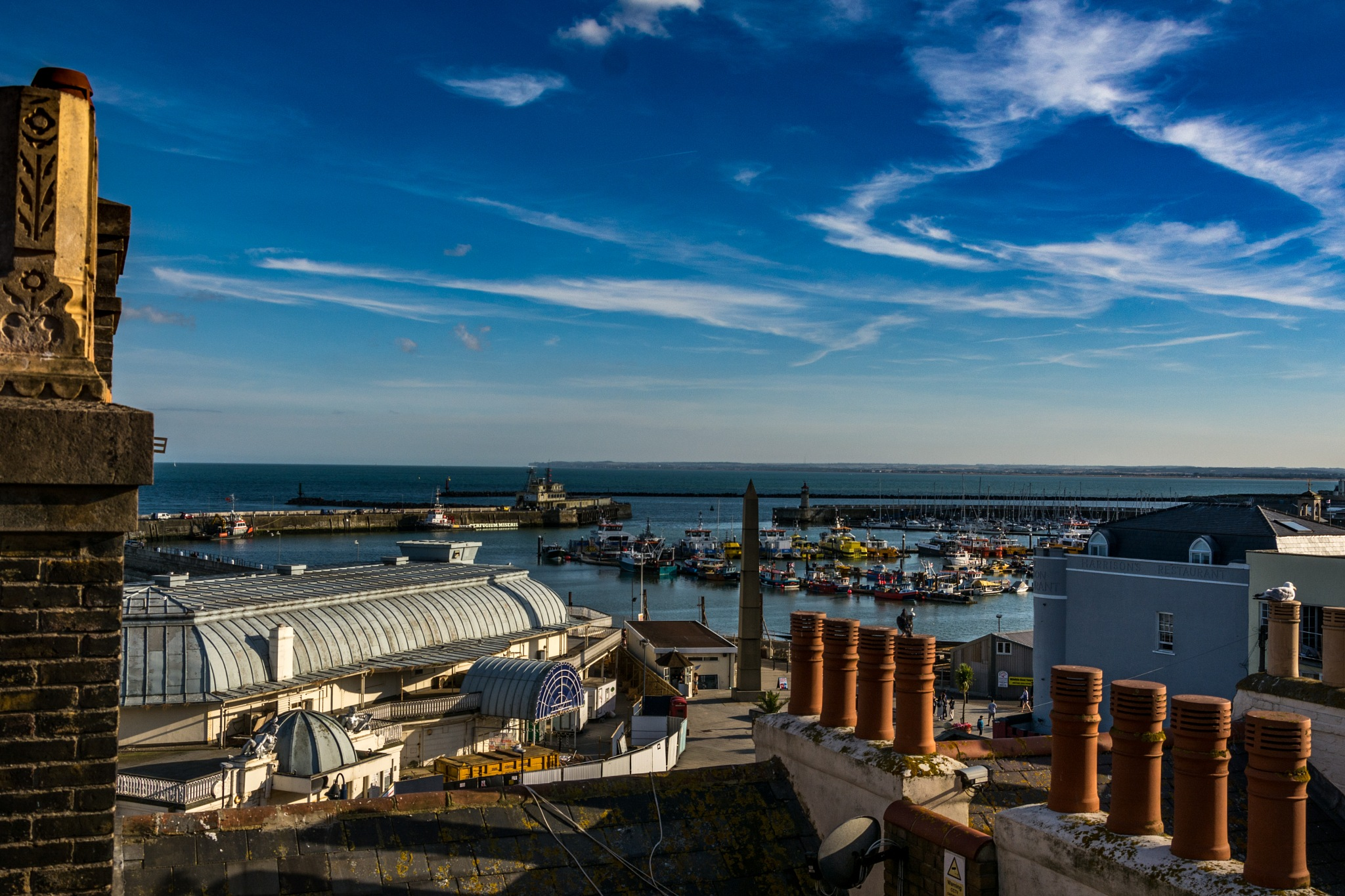Ramsgate Harbour by Poetsoftheheart