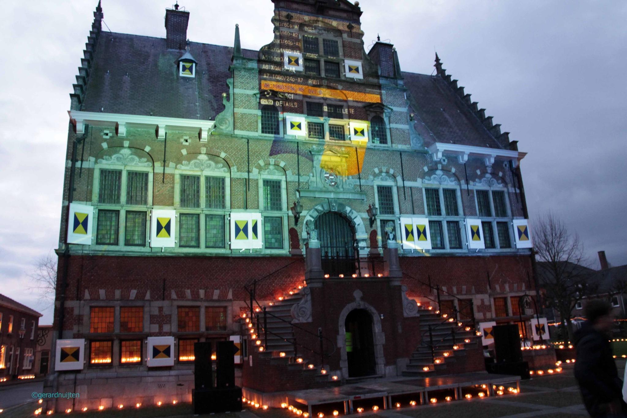 stadhuis klundert by Gerard Nuijten