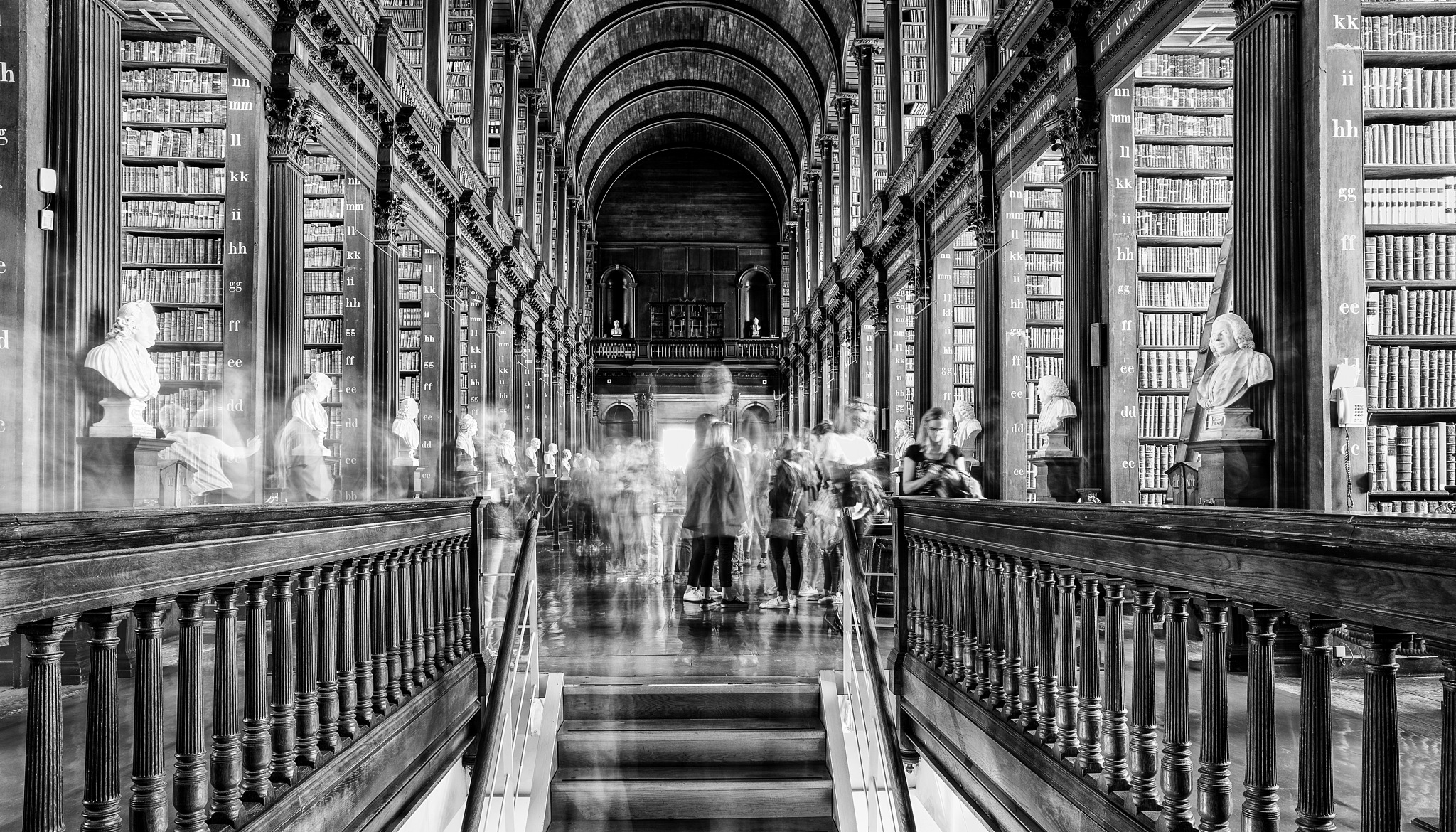 The Ghosts of Trinity College by AttilaPhotographie