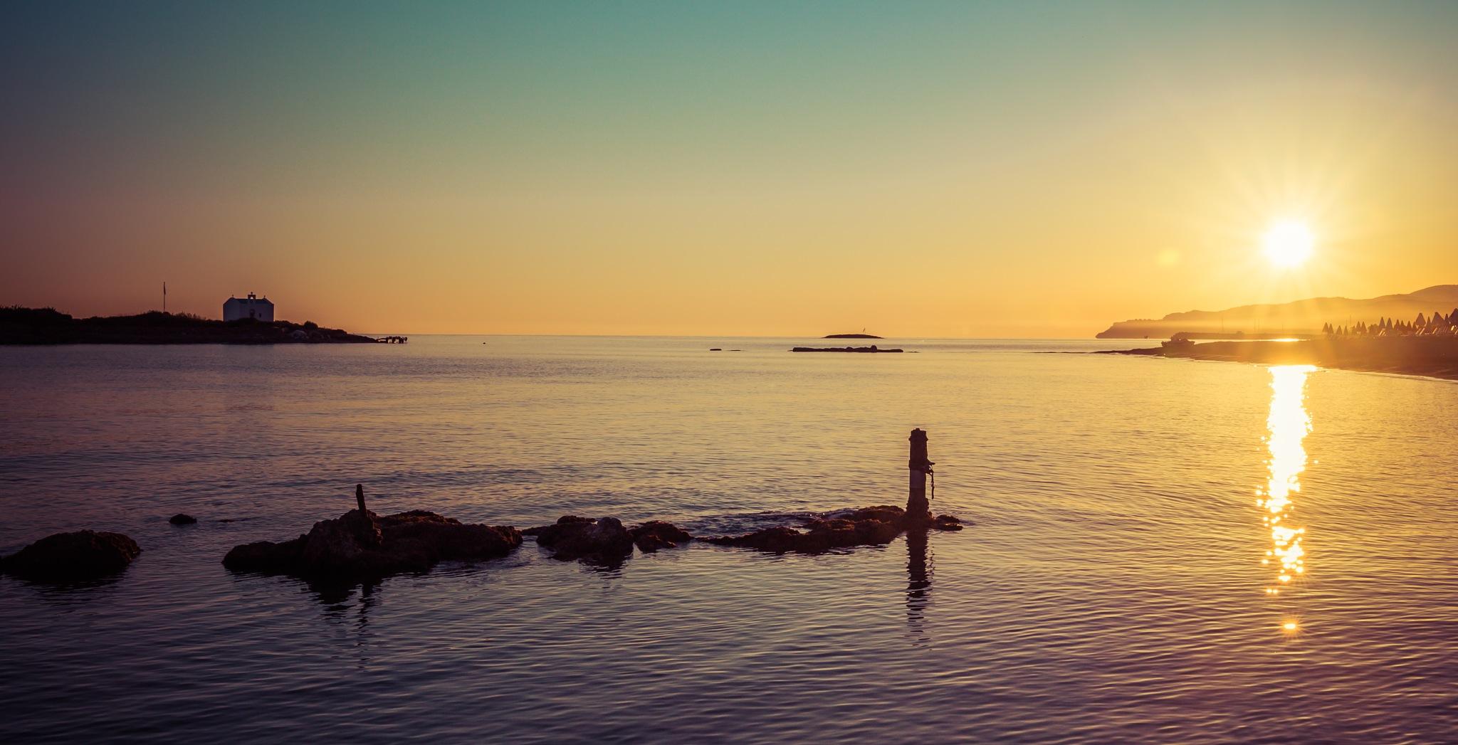 Sunrise Crete by AttilaPhotographie
