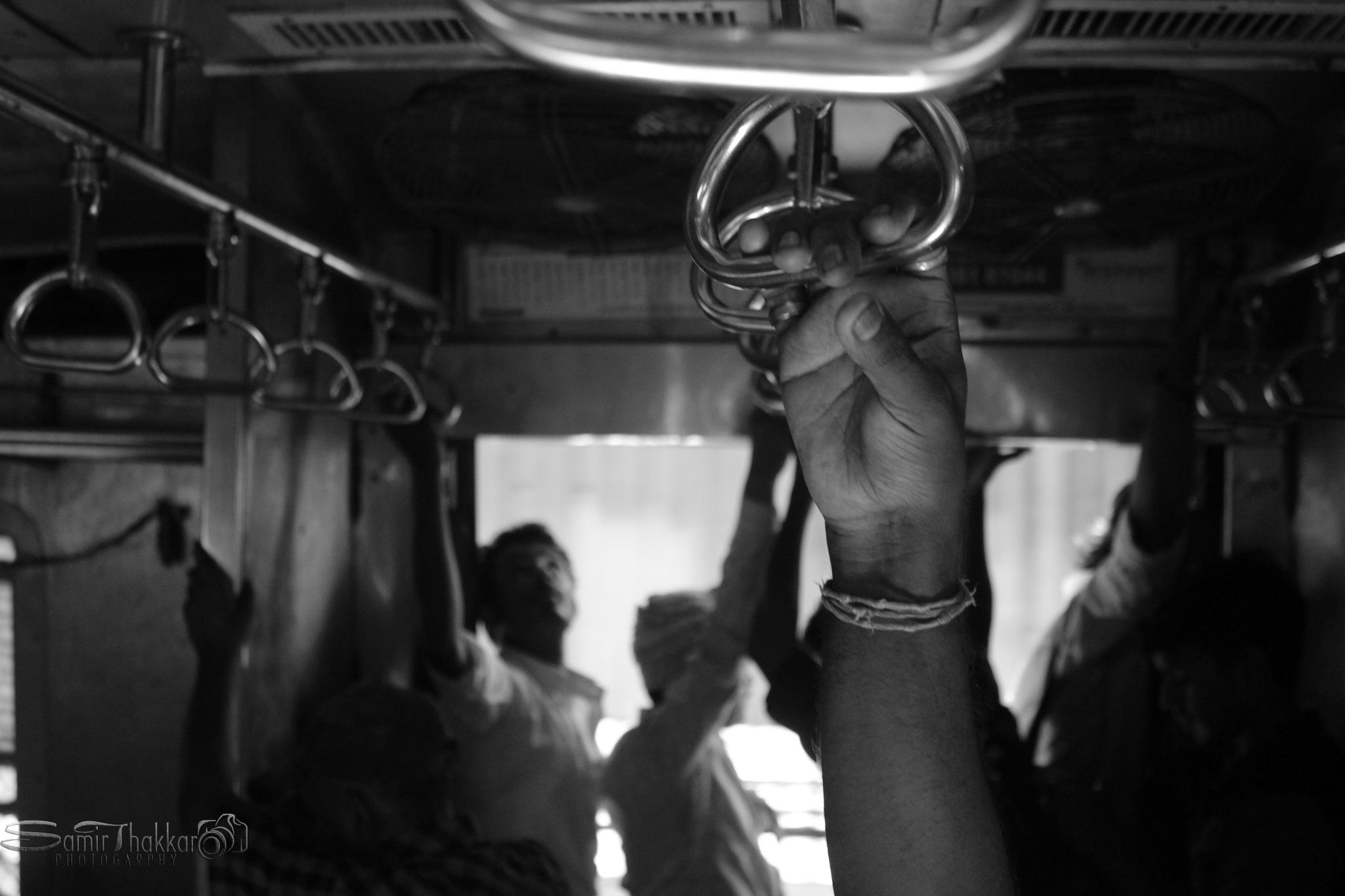 Mumbai Local Train by Samir Thakkar