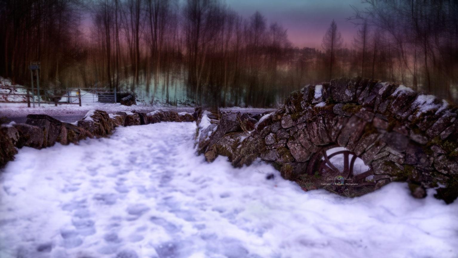 The abandoned railway track by Jean-Noel Nicolas