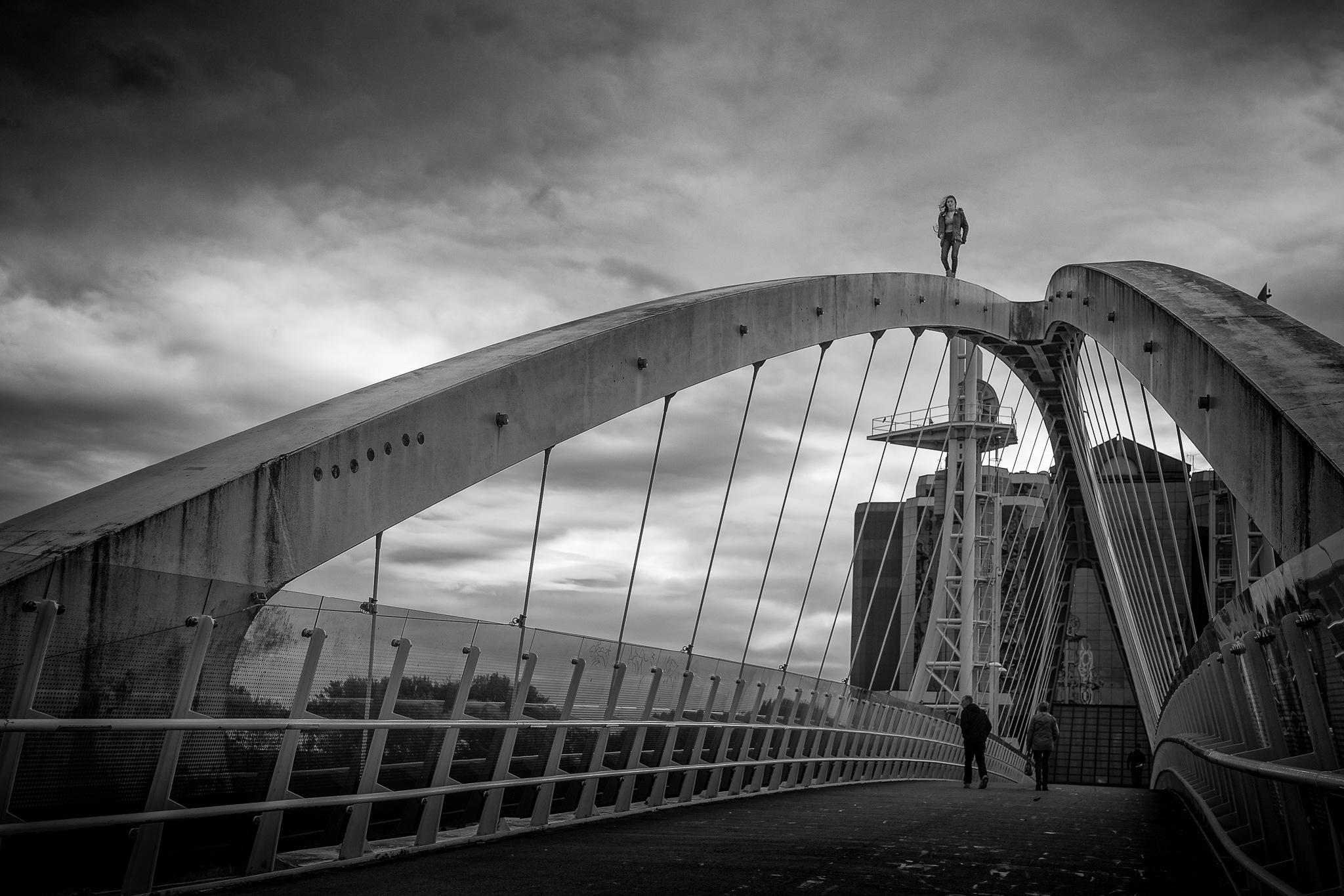 Millenium Bridge by IWCharters