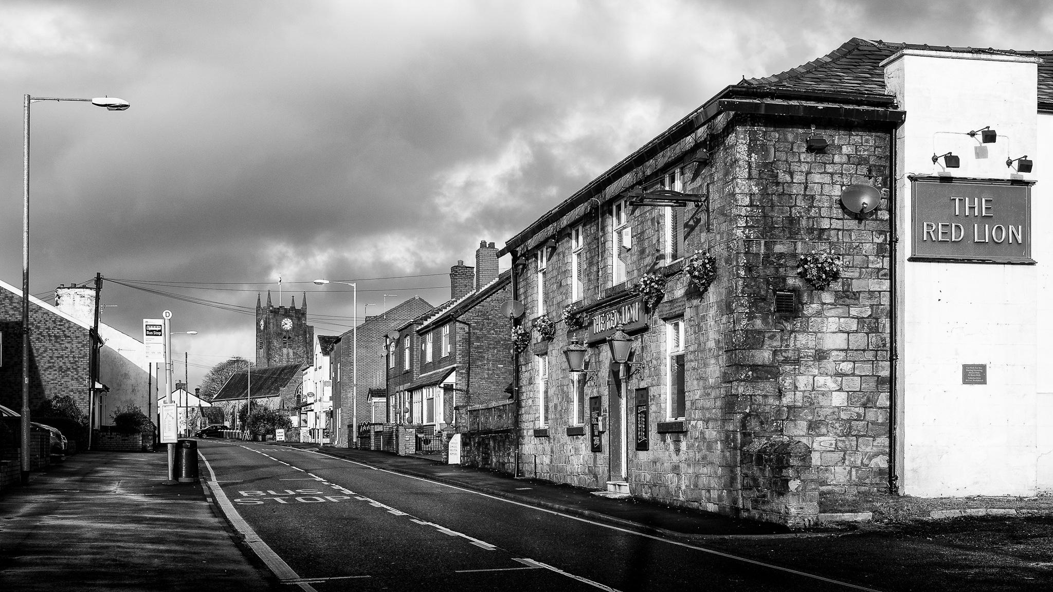 Pub & Church by IWCharters