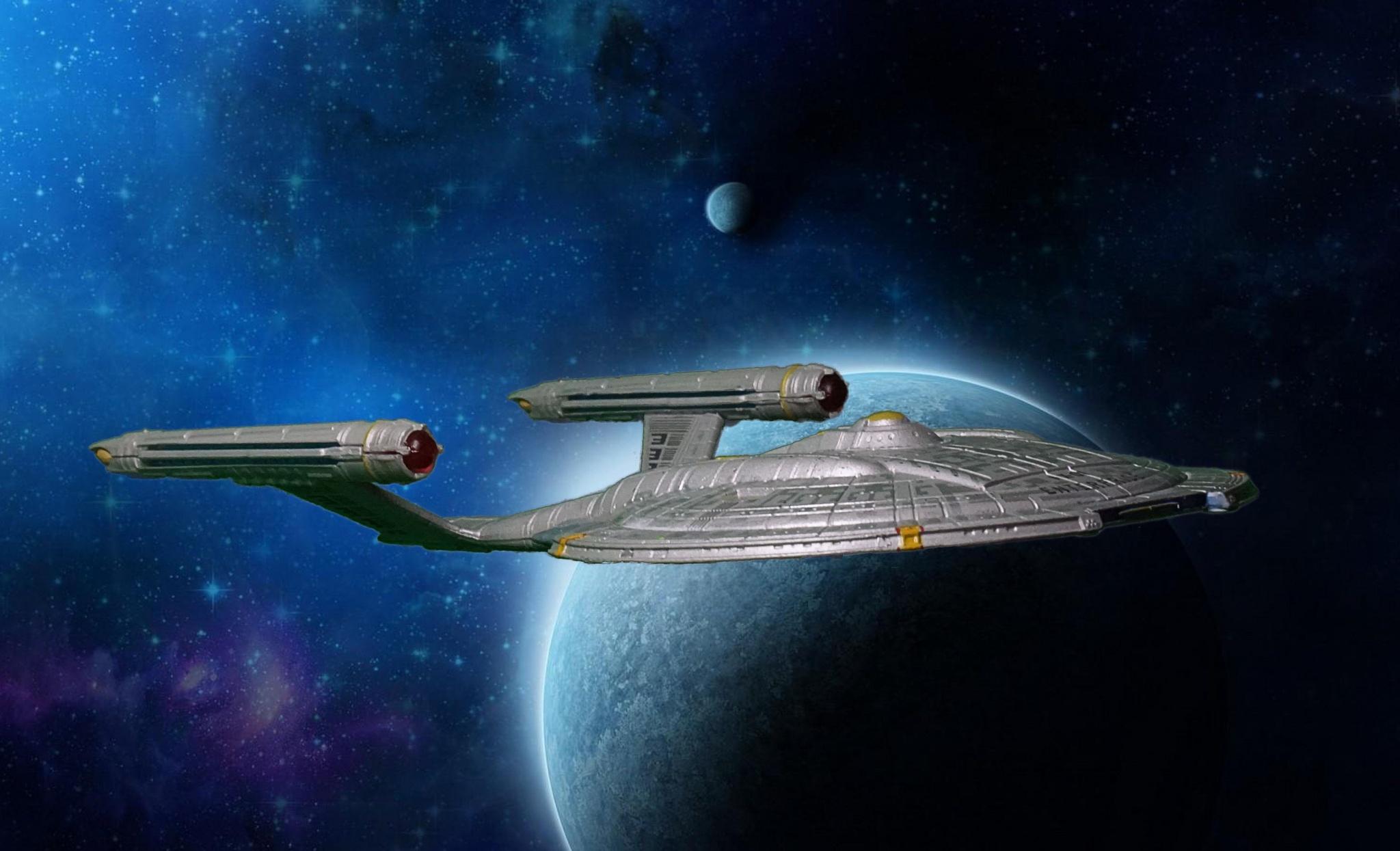 Enterprise NX-01  by Austin Lovelock