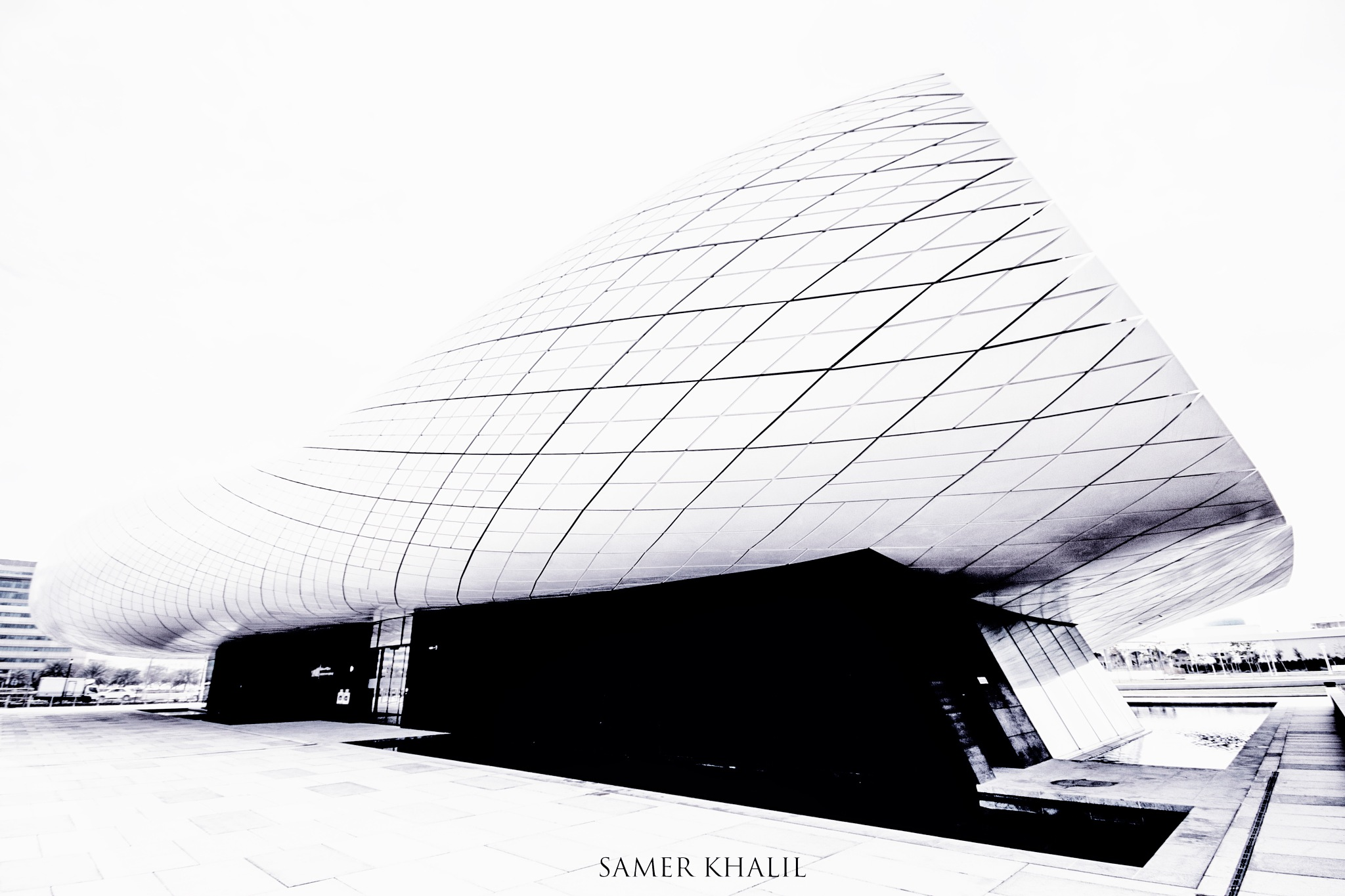 Union Museum - Dubai- High Key by Sam Khalil