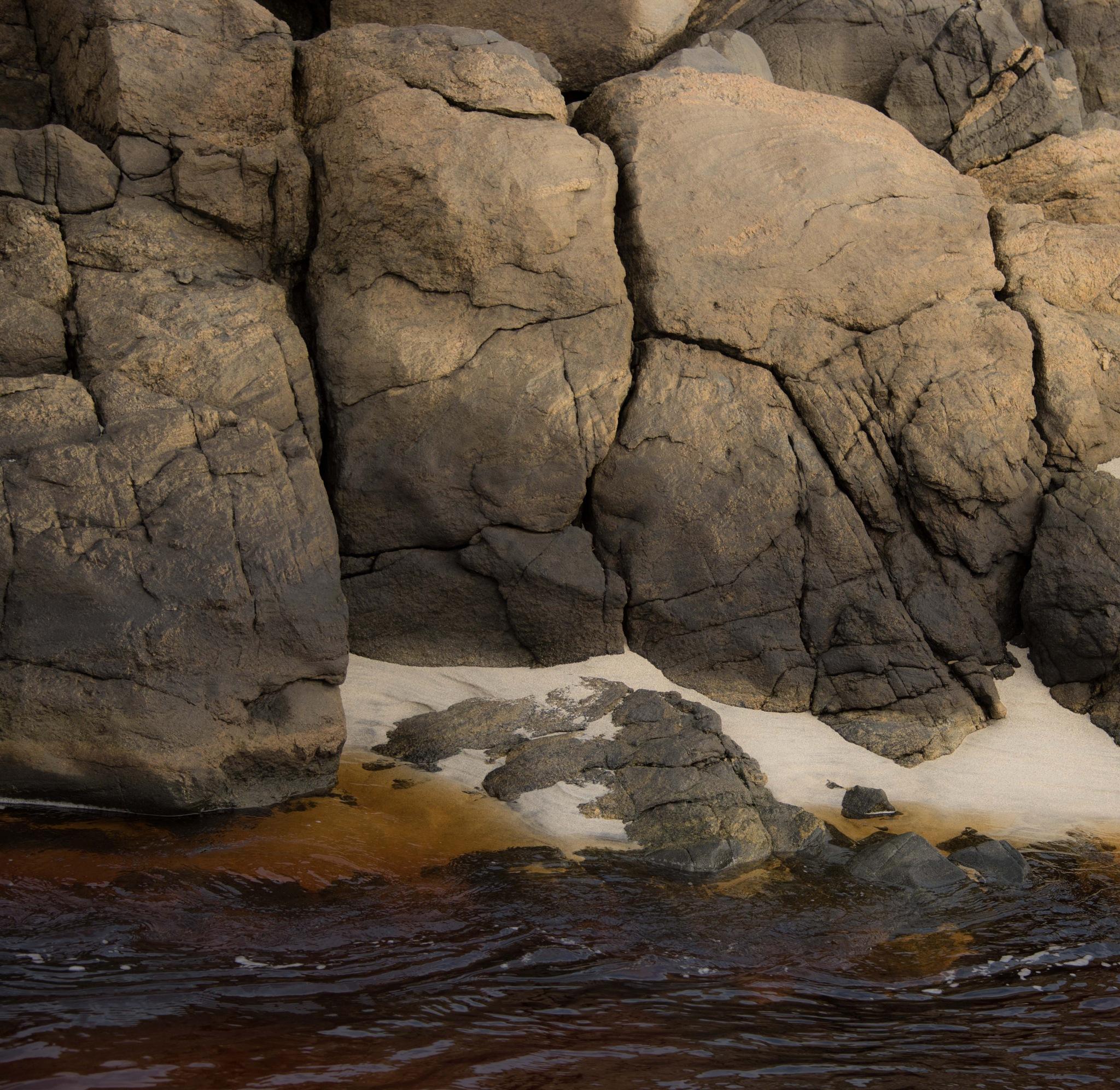 Three grumpy men - rocks and boulders Barra by Paulomac