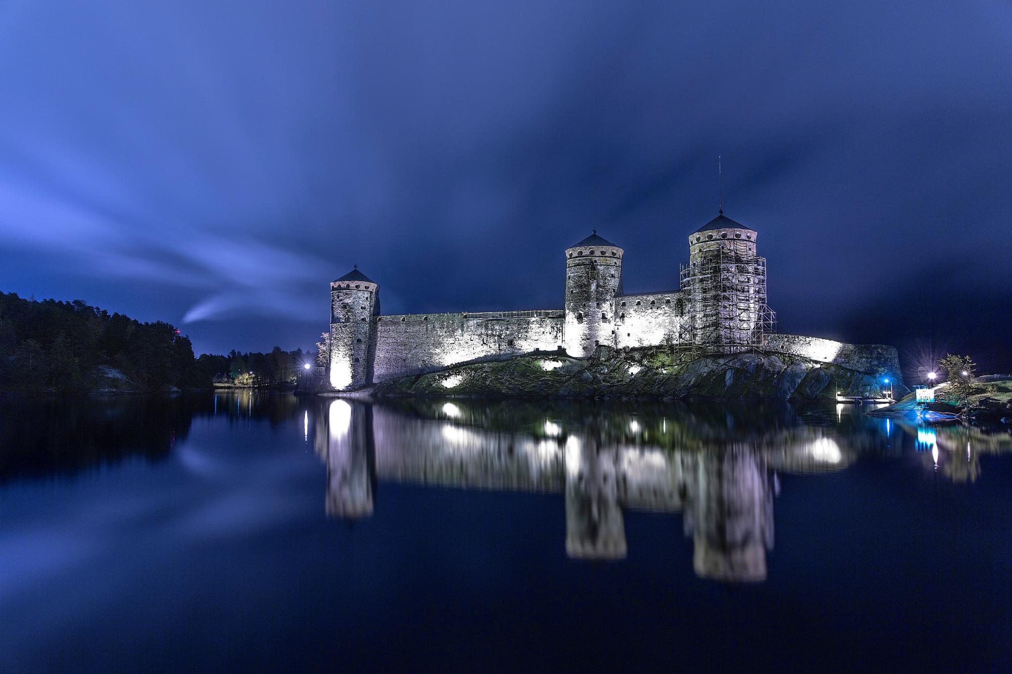 Olavinlinna Castle - Finland 2014 by Sedat Göcelerli