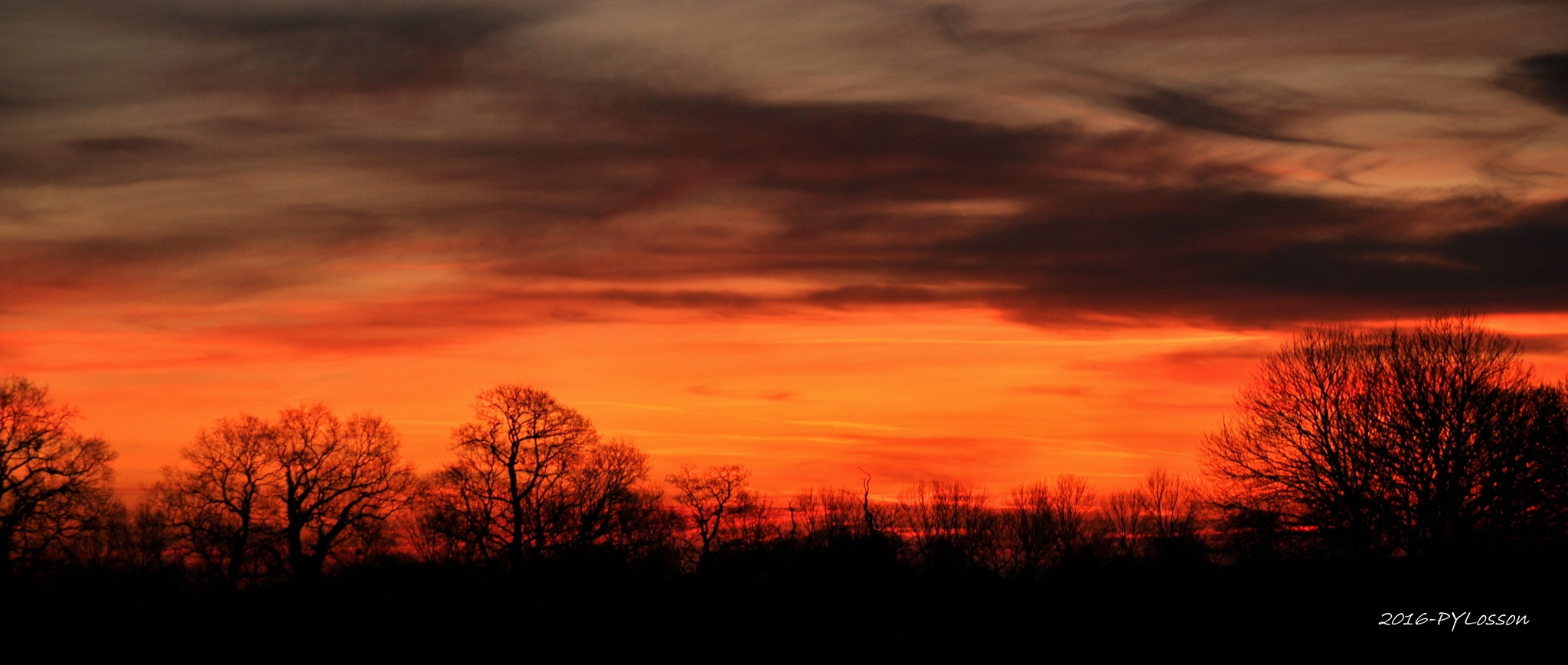 First light oh french winter sunset !!! by Pierre-Yves Losson