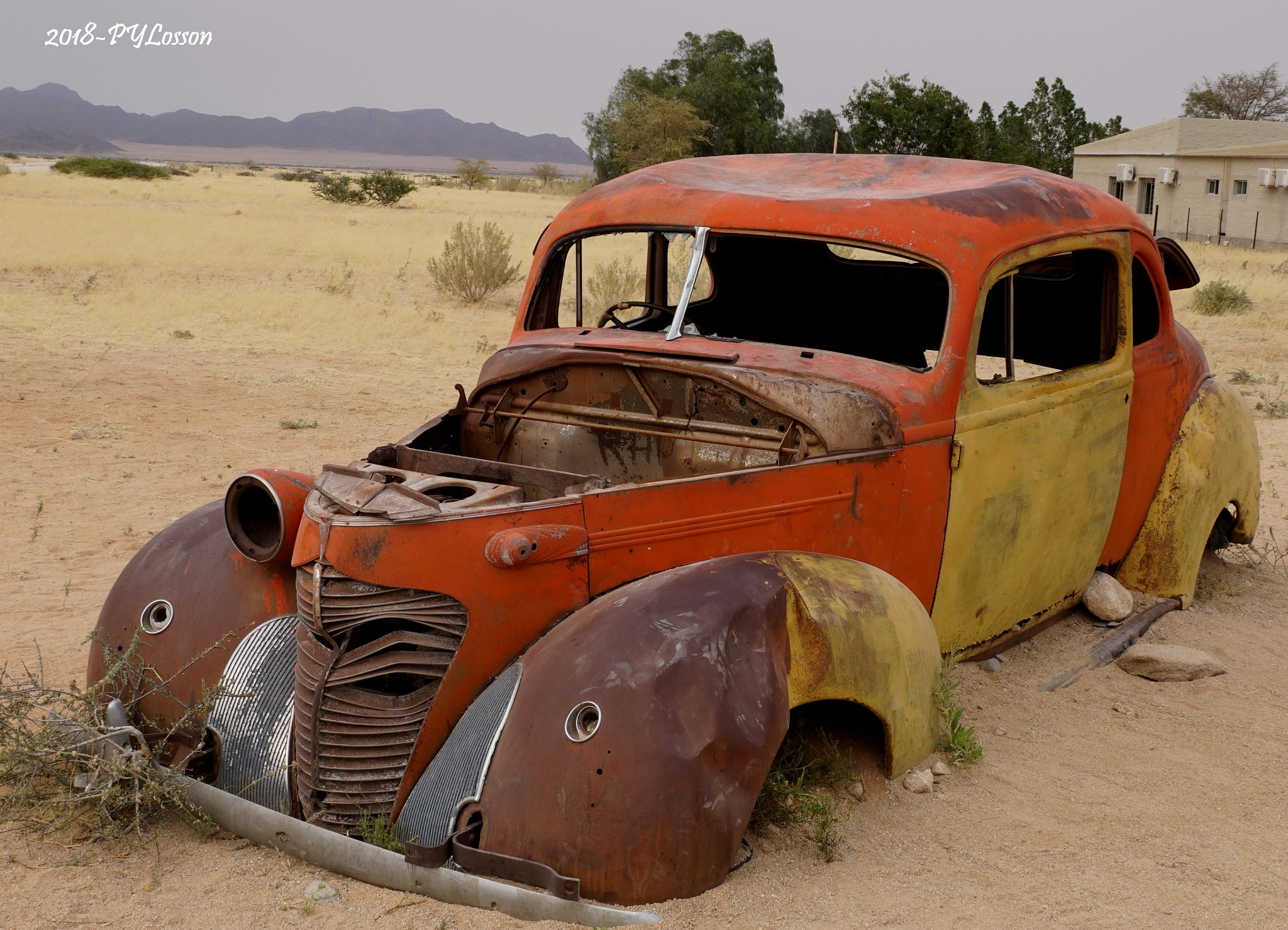 Old Car by Pierre-Yves Losson