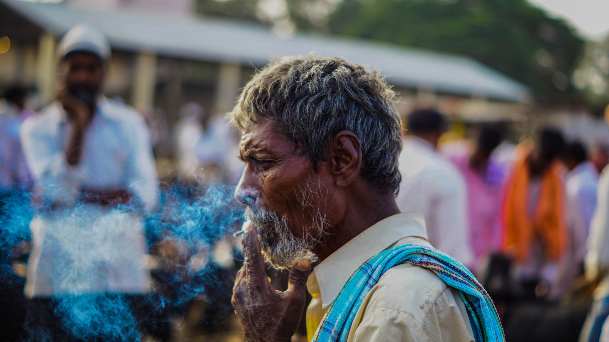 Smoker  by Photofountain