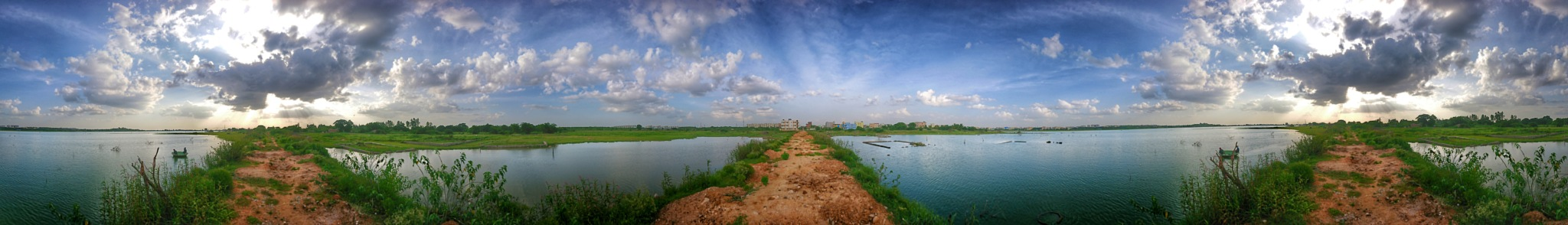 Ameenpur Lake  by Photofountain
