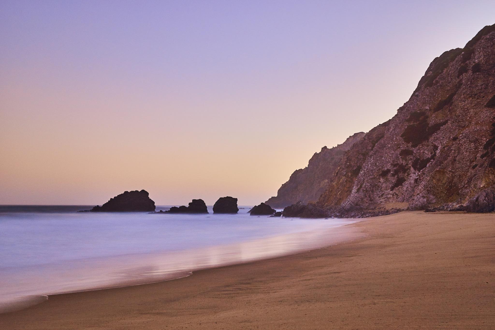 adraga beach by José Ferreira