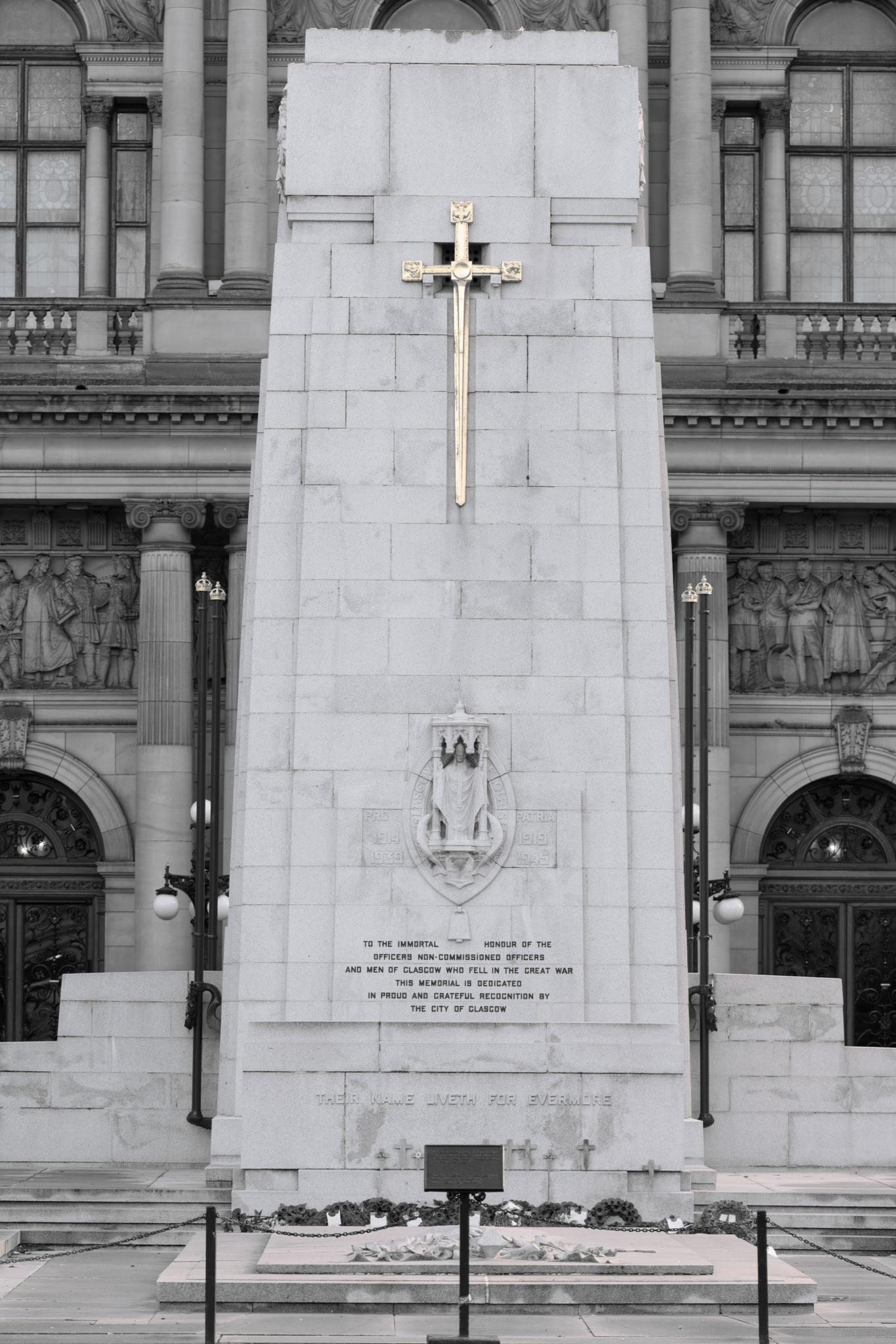 Glasgow war memorial by johnmcdougall