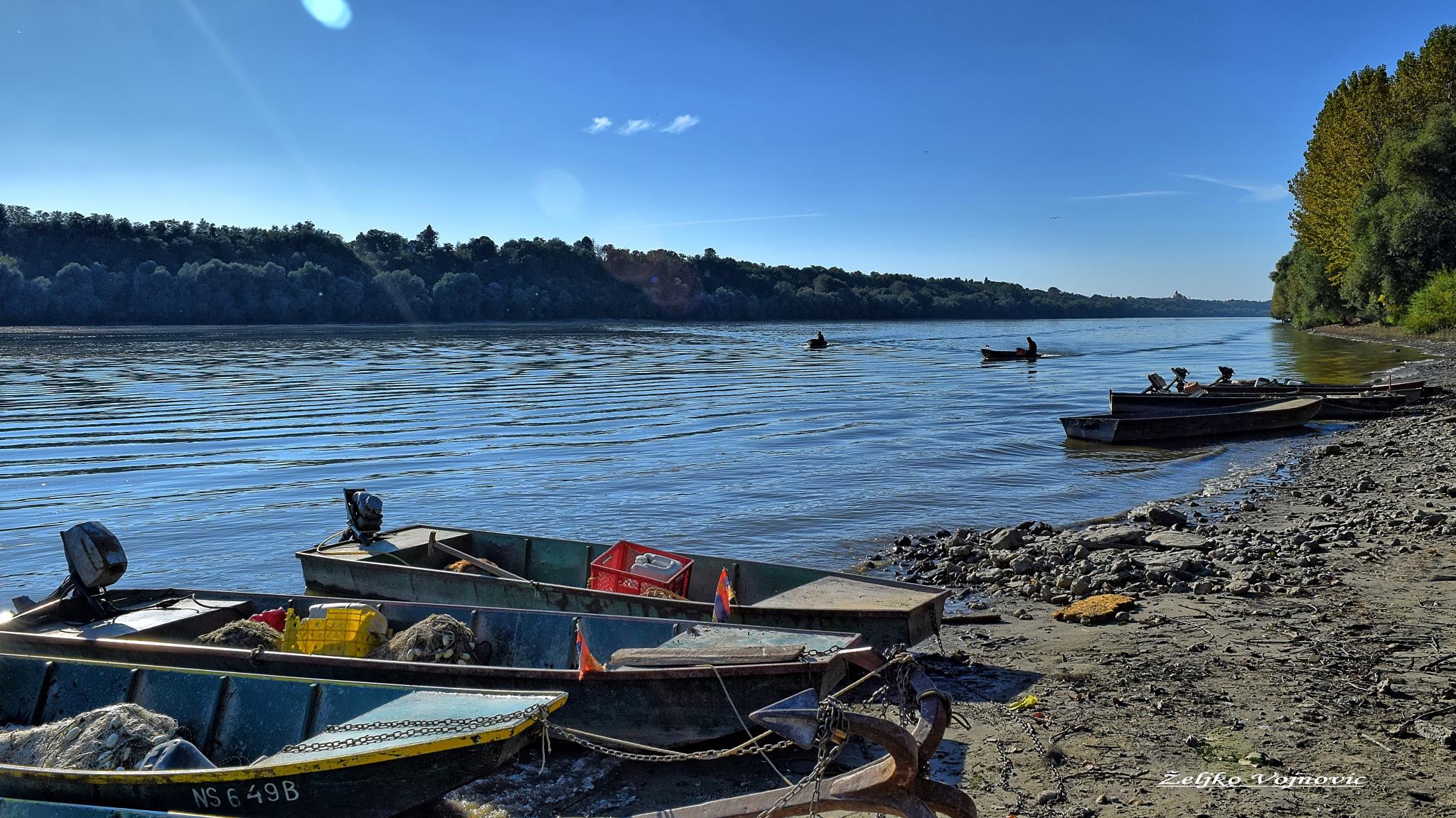 The Danube River ...  by Željko Vojnović