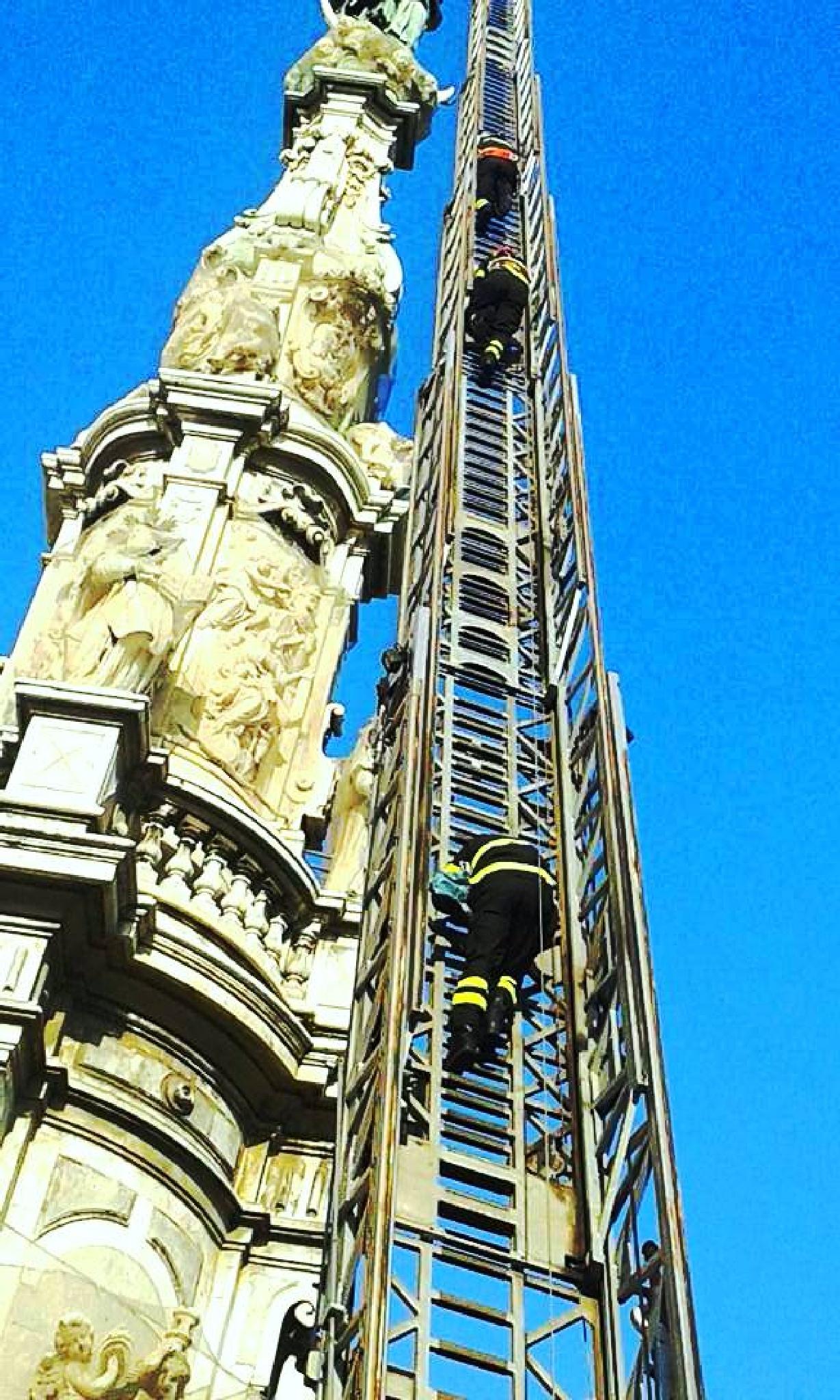 Piazza del Gesù Nuovo. 8 Dicembre by Sara Porro