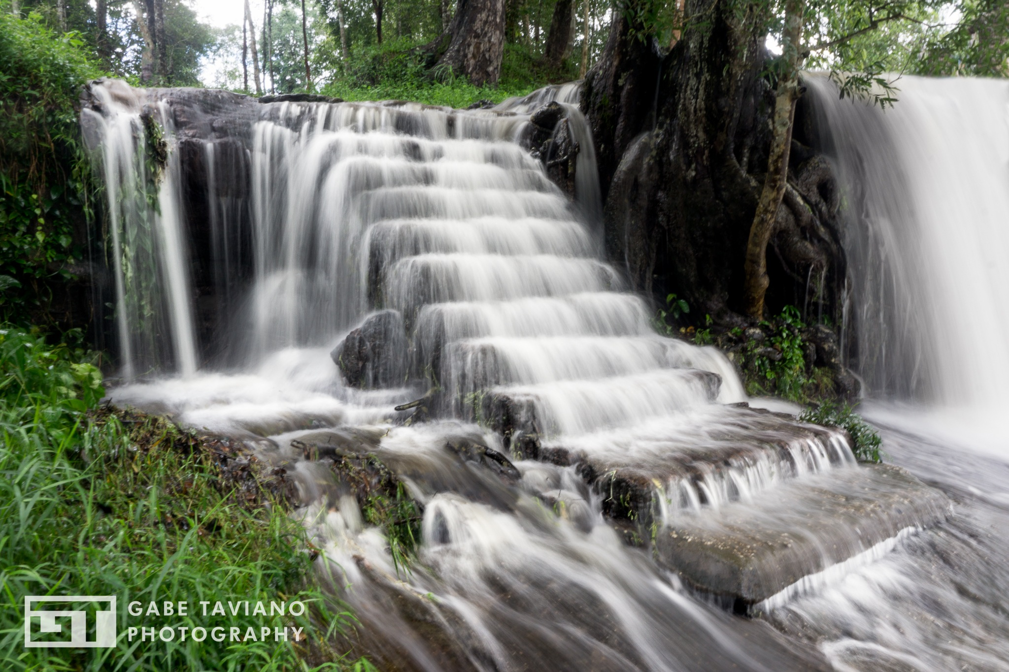 Eleven steps waterfall by Gabe Taviano