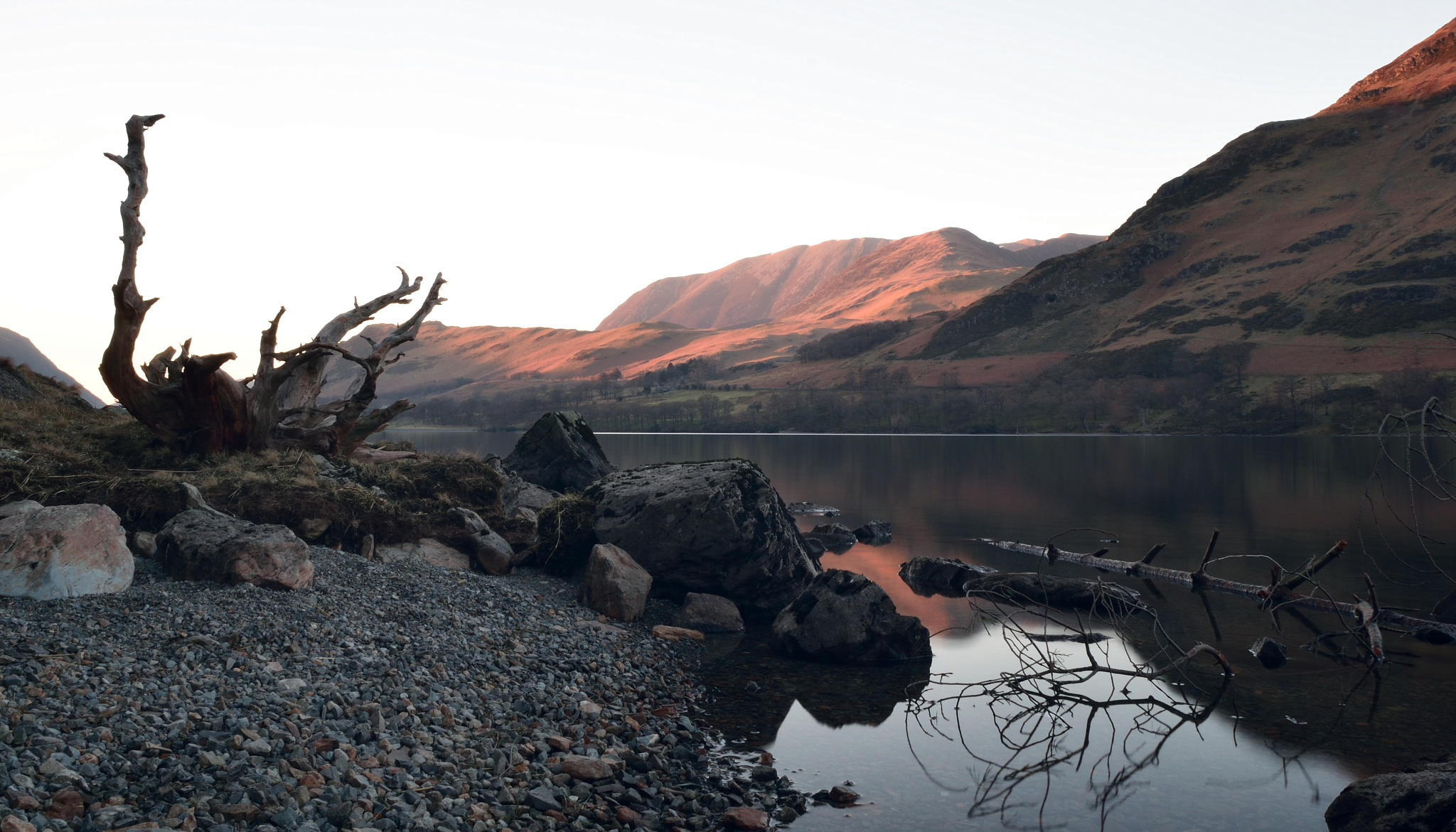 Buttermere bankside by Brunners