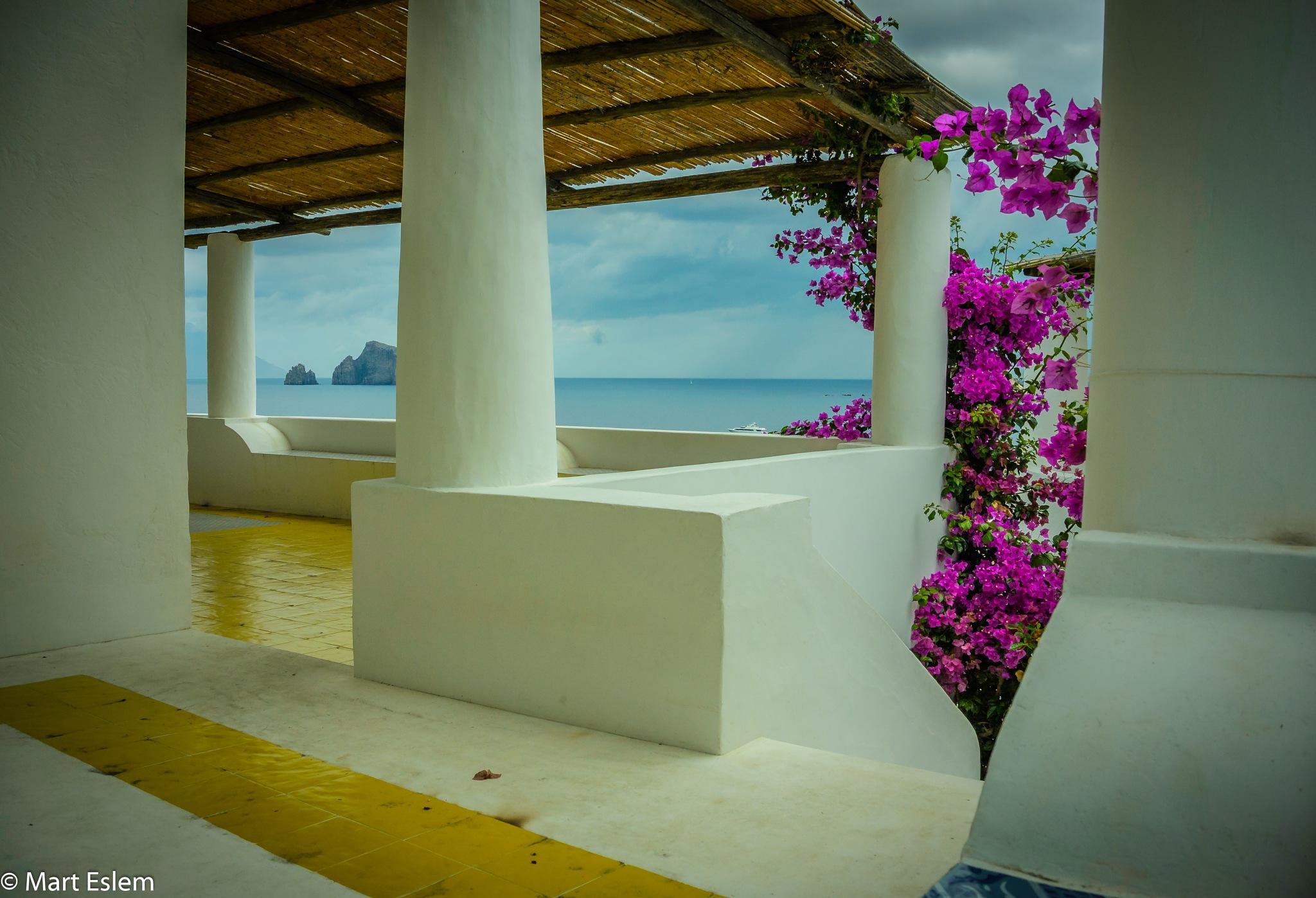 House on Panarea Island by Mart Eslem