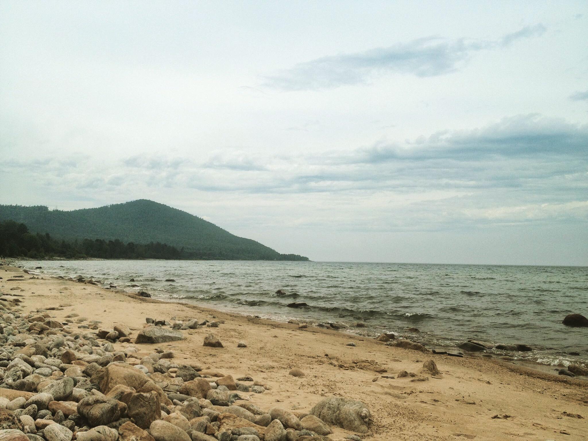 Lake baikal by Berka swan