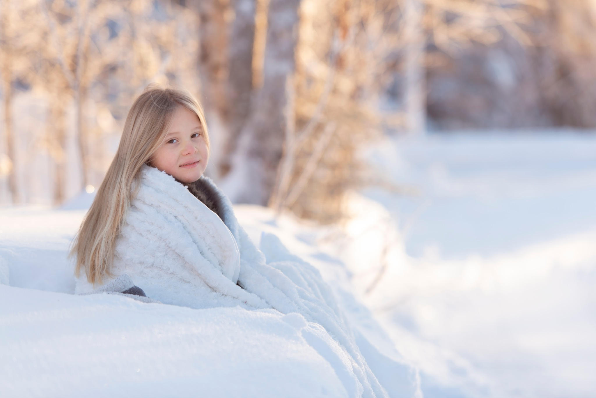 Sunshine during winter by anjutka1982