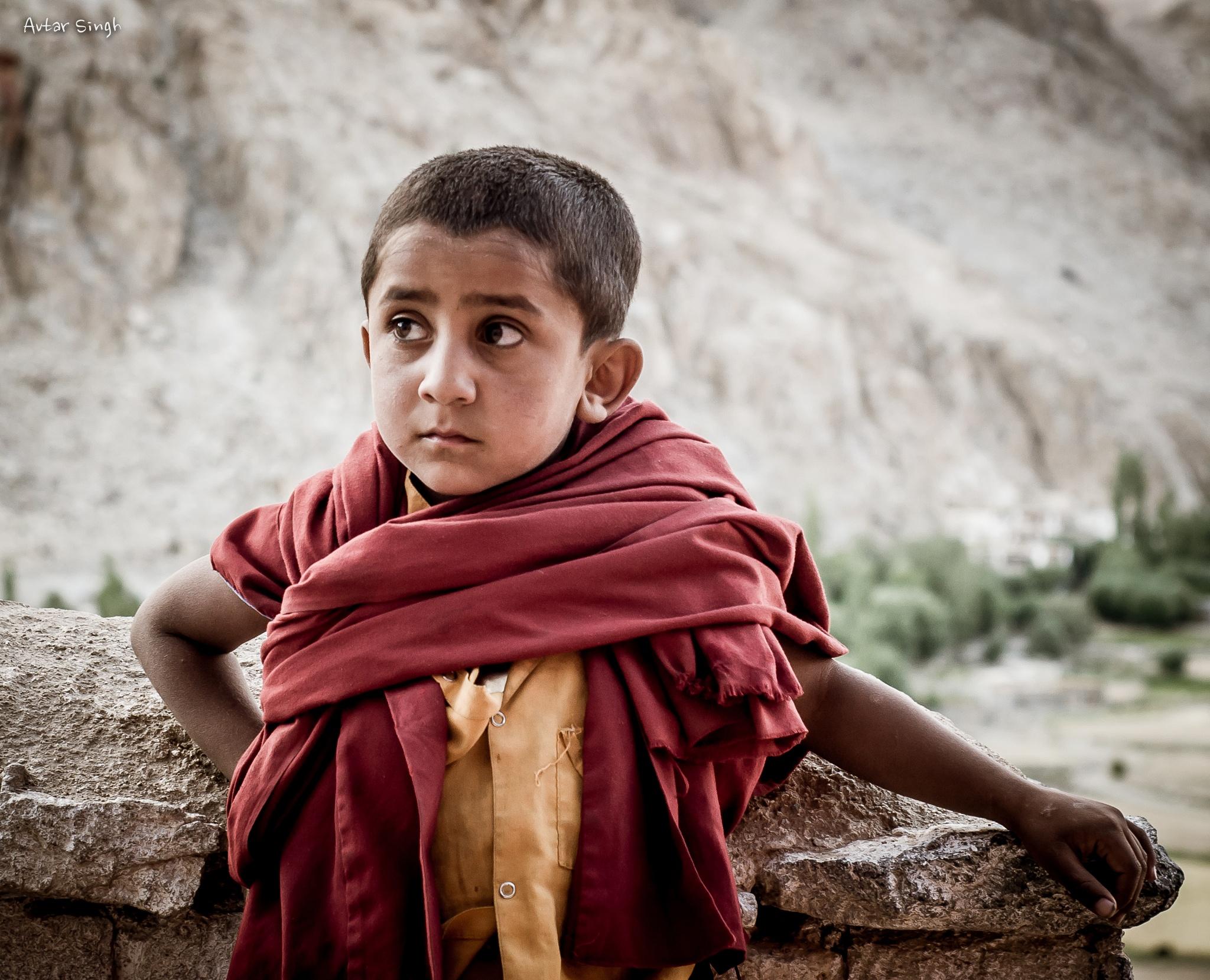Little Lama by Avtar Singh