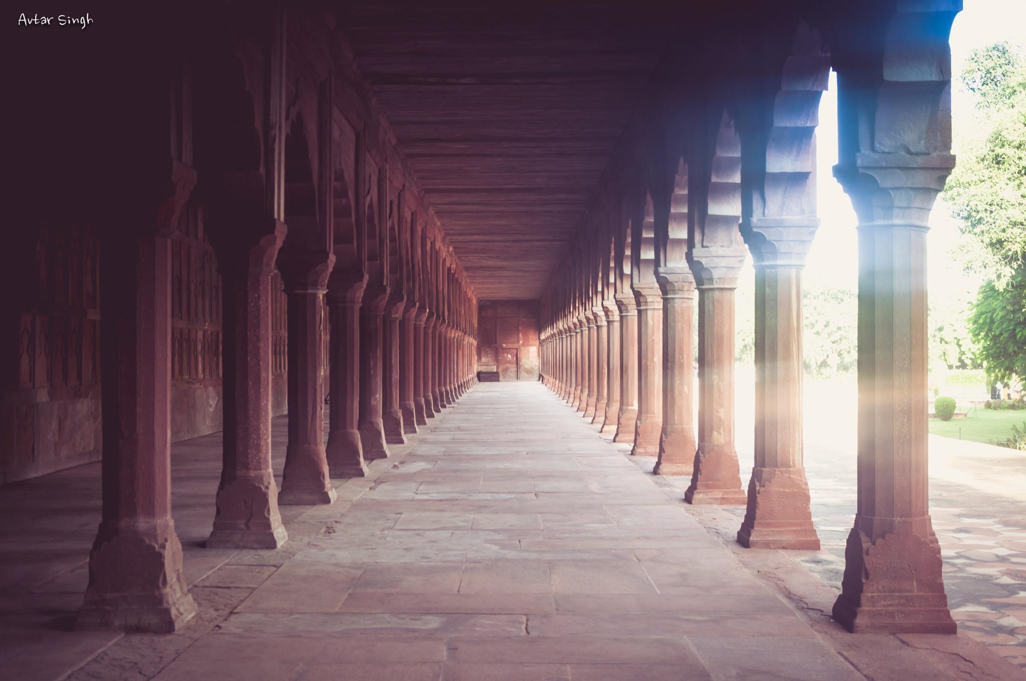 Corridor  by Avtar Singh