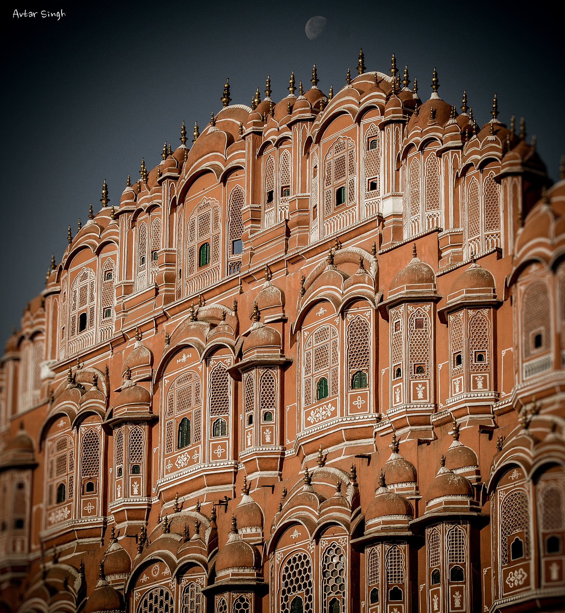 Palace of Winds by Avtar Singh