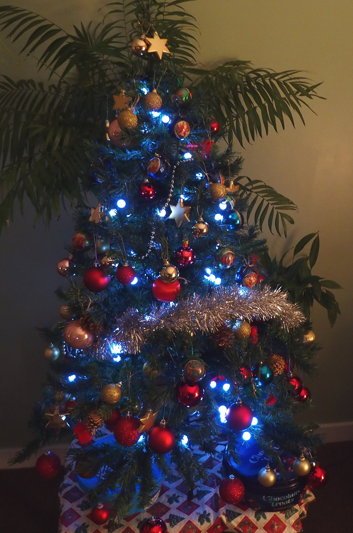 Our tree this Christmas by Terence Quinn